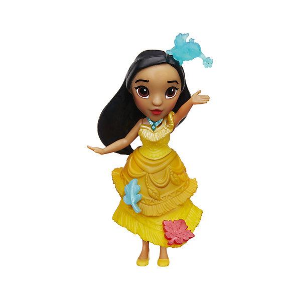Мини-кукла Hasbro Disney Princess, ПокахонтасПринцессы Дисней<br>Характеристики:<br><br>• очаровательная куколка помогает раскрыть творческий потенциал девочки, позволяет фантазировать и обыгрывать различные сюжетные линии с участием пренцессы Дисней;<br>• мини-куколки легко помещаются в маленькой ладошке;<br>• куклу можно взять с собой, поместить в рюкзачок или карман курточки;<br>• каждая кукла занимает определенную позу;<br>• руки-ноги куклы неподвижны, героиня замерла в танцевальном па;<br>• куколка одета в яркий наряд, характерный для диснеевских героинь;<br>• одежда не снимается;<br>• полимерные куколки приятны на ощупь;<br>• высота куколки составляет 15 см;<br>• размер упаковки: 17,5х15,5х6 см;<br>• вес: 100 г.<br><br>Мини-кукла, Принцессы Дисней, в ассортименте можно купить в нашем интернет-магазине.<br>Ширина мм: 176; Глубина мм: 152; Высота мм: 63; Вес г: 100; Возраст от месяцев: 48; Возраст до месяцев: 96; Пол: Женский; Возраст: Детский; SKU: 7120189;