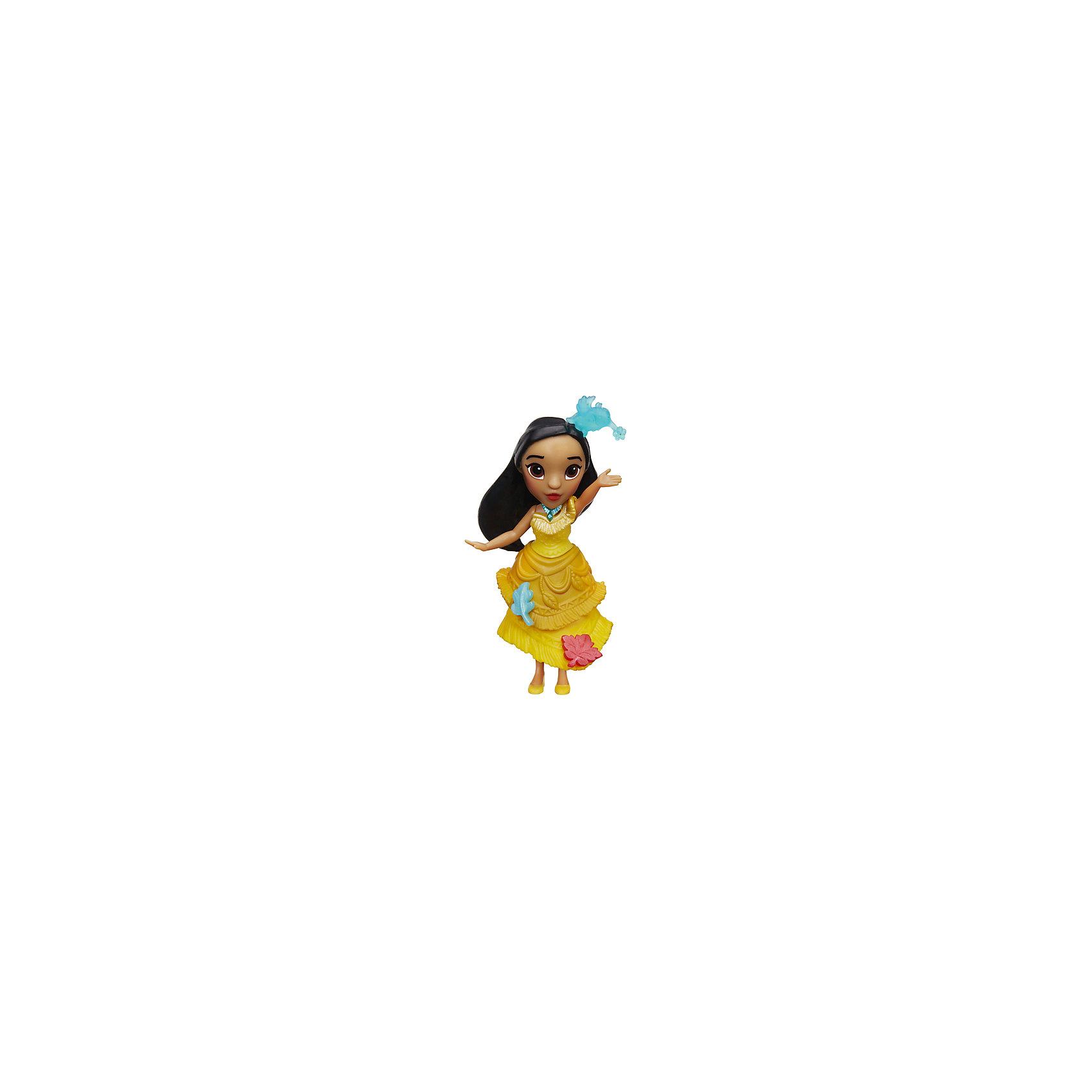 Мини-кукла Hasbro Disney Princess, ПокахонтасМини-куклы<br><br><br>Ширина мм: 176<br>Глубина мм: 152<br>Высота мм: 63<br>Вес г: 100<br>Возраст от месяцев: 48<br>Возраст до месяцев: 96<br>Пол: Женский<br>Возраст: Детский<br>SKU: 7120189