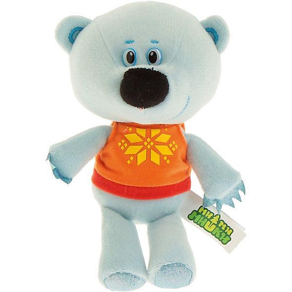 Мягкая игрушка Мульти-Пульти Медвежонок Белая Тучка, 20 см (звук)Мягкие игрушки из мультфильмов<br>Один из героев популярного мультфильма Мими Мишки Медвежонок Белая Тучка, сделан в виде очеровательной мягкой игрушки. Она приятная на ощупь, так как сделана из безопасного мягкого материала (искусственный мех). Удобный размер 20 см, позволит брать его с собой куда угодно. Если нажать на животик герою, то он скажет несколько знаменитых фраз из мультфильма, что несомненно порадует малыша. Развивает тактильное и слуховое восприятие, фантазию, память. Рекомендовано детям от 3-х лет. Работает от батареек (входят в комплект).<br>Ширина мм: 150; Глубина мм: 130; Высота мм: 240; Вес г: 270; Возраст от месяцев: 36; Возраст до месяцев: 84; Пол: Унисекс; Возраст: Детский; SKU: 7120275;