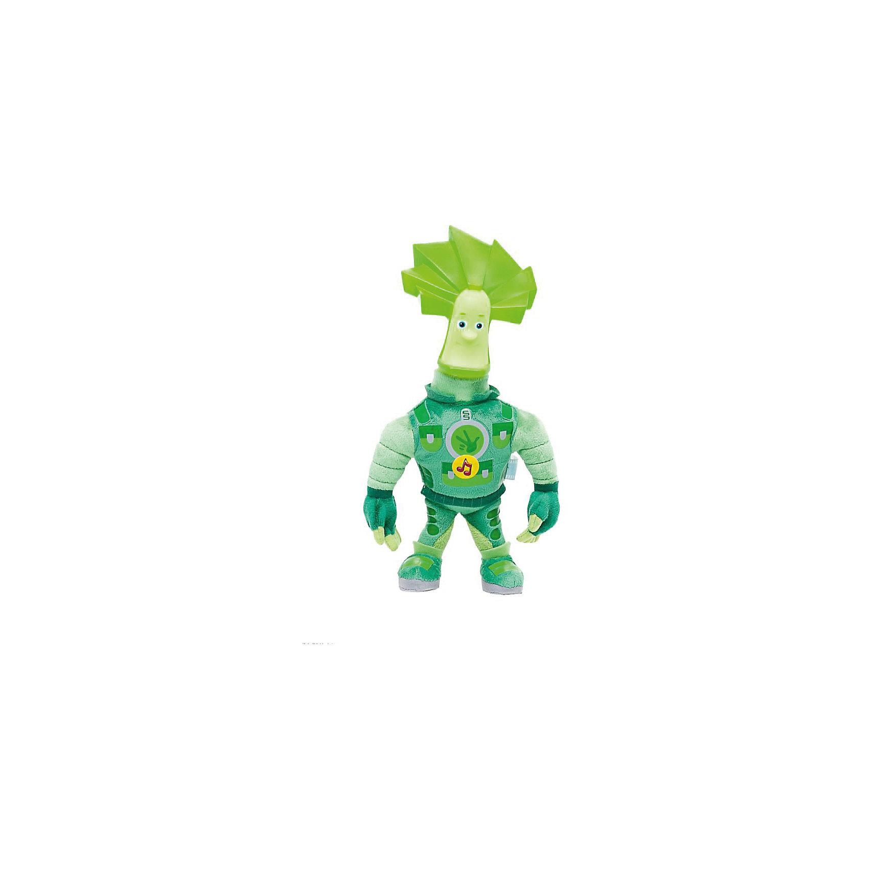Мягкая игрушка Мульти-Пульти Фиксики. Папус, 29 см (свет, звук)Озвученные мягкие игрушки<br>Мягкая игрушка в виде любимого героя из популярного, всеми любимого мультика Фиксики Папус. Эта игрушка коллекционная. У Папуса пластиковая голова и мягкое тело. Чтобы головка у героя засветилась, нужно нажать на ручку, а при нажатии на животик Папус скажет известные фразы из мультфильма и споет песенку. Размер игрушки 29 см. Развивает слуховое и тактильное восприятие, фантазию, память. Рекомендовано детям от 3-х лет. Работает от 3 батареек типа АА (входят в комплект).<br><br>Ширина мм: 340<br>Глубина мм: 120<br>Высота мм: 160<br>Вес г: 410<br>Возраст от месяцев: 36<br>Возраст до месяцев: 84<br>Пол: Унисекс<br>Возраст: Детский<br>SKU: 7120276