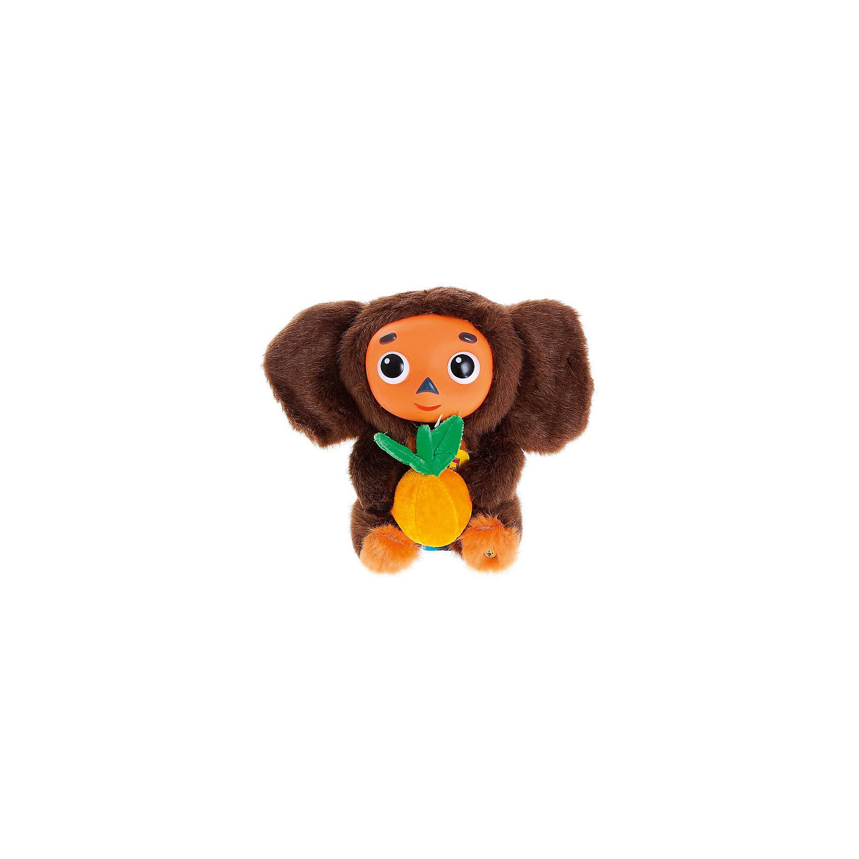 Мягкая игрушка Мульти-Пульти Чебурашка, 25 см (звук)Мягкие игрушки из мультфильмов<br>Мягкая игрушка  Чебурашка 25 см, озвученная с апельсином.<br><br>Ширина мм: 210<br>Глубина мм: 140<br>Высота мм: 320<br>Вес г: 650<br>Возраст от месяцев: 36<br>Возраст до месяцев: 84<br>Пол: Унисекс<br>Возраст: Детский<br>SKU: 7120277