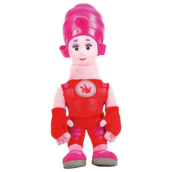 Мягкая игрушка Мульти-Пульти Фиксики. Мася, 29 см (свет, звук)Мягкие игрушки из мультфильмов<br>Мягкая игрушка в виде любимого героя из популярного, всеми любимого мультика Фиксики Мася. Эта игрушка коллекционная. У Маси пластиковая голова и мягкое тело. Чтобы головка у героя засветилась, нужно нажать на ручку, а при нажатии на животик Мася скажет известные фразы из мультфильма и споет песенку. Размер игрушки 29 см. Развивает слуховое и тактильное восприятие, фантазию, память. Рекомендовано детям от 3-х лет. Работает от 3 батареек типа АА (входят в комплект).<br><br>Ширина мм: 330<br>Глубина мм: 120<br>Высота мм: 1740<br>Вес г: 370<br>Возраст от месяцев: 36<br>Возраст до месяцев: 84<br>Пол: Унисекс<br>Возраст: Детский<br>SKU: 7120278