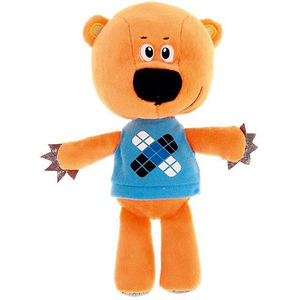 Мягкая игрушка Мульти-Пульти Медвежонок Кешка, 20 см (звук)Мягкие игрушки из мультфильмов<br>Характеристики товара:<br><br>• высота игрушки: 20 см;<br>• возраст: от 3 лет;<br>• материал: искусственный мех, текстиль, наполнитель, пластик;<br>• батарейки: ААА - 3 шт. (входят в комплект);<br>• размер упаковки: 10х20х28 см;<br>• страна бренда: Россия.<br><br>Забавный медвежонок Кешка подарит много радости любителям мультфильма «Ми-Ми-Мишки». Игрушка очень похожа на свой прототип. Она имеет мягкое, приятное на ощупь туловище, глазки-бусинки и широкий нос. Медвежонок одет в любимую голубую футболочку. При нажатии на животик Кеша расскажет фразы из мультфильма. Благодаря компактному размеру ребенок всегда сможет взять игрушку с собой. Медвежонок изготовлен из качественных, гипоаллергенных материалов. Для работы потребуются 3 батарейки ААА (входят в комплект).<br><br>Мягкую игрушку «Медвежонок Кешка» 20 см, озвученную, Мульти-Пульти можно купить в нашем интернет-магазине.<br>Ширина мм: 150; Глубина мм: 130; Высота мм: 240; Вес г: 280; Возраст от месяцев: 36; Возраст до месяцев: 84; Пол: Унисекс; Возраст: Детский; SKU: 7120281;