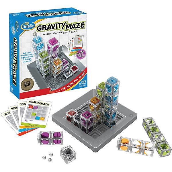 Гравитационный 3D лабиринт,ThinkfunГоловоломки - игры<br>Игра-головоломка «Гравитационный 3D Лабиринт», в основе которой Закон всемирного тяготения, несомненно, станет достойным испытанием для ваших умственных способностей и пространственного воображения. Существует огромное количество вариантов расстановки красивых полупрозрачных башен на игровом поле.  60 оригинальных заданий, разбитых по уровню сложности, обеспечат Вам много часов удовольствия, проведенных за решением заданий и постройкой лабиринтов. Когда все задания до последнего будут пройдены, Вы можете продолжать строить, изобретая собственные лабиринты и задания! Подходит в качестве подарка.<br>Способствует развитию: Логики, пространственного воображения,<br>Аналитических способностей, визуального восприятия.<br>Количество игроков: один. Возрастная группа: от 8 лет.<br>Размер индивидуальной упаковки: 24х7,8х26,80см. Вес: 0,96кг<br>Производитель: ThinkFun, США<br>Ширина мм: 240; Глубина мм: 78; Высота мм: 268; Вес г: 960; Возраст от месяцев: 96; Возраст до месяцев: 2147483647; Пол: Унисекс; Возраст: Детский; SKU: 7120354;