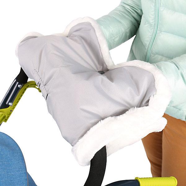 Муфта для санок Ника МС1, серыйСанки-коляски<br>Характеристики товара:<br><br>• материал: ПВХ, искусственный мех;<br>• размер муфты: 43х24х3 см;<br>• страна-производитель: Россия.<br><br>Муфта для санок Ника МС1 серая подходит для большинства санок и колясок. Она защитит от холода и ветра руки мамы во время зимних прогулок с ребенком. Муфта легко крепится на ручку коляски или санок. Верхний материал не пропускает влагу. Внутренняя подкладка выполнена из искусственного меха, сохраняющего тепло. <br><br>Муфту для санок Ника МС1 серую можно приобрести в нашем интернет-магазине.<br><br>Ширина мм: 500<br>Глубина мм: 440<br>Высота мм: 40<br>Вес г: 200<br>Возраст от месяцев: 12<br>Возраст до месяцев: 48<br>Пол: Унисекс<br>Возраст: Детский<br>SKU: 7120397