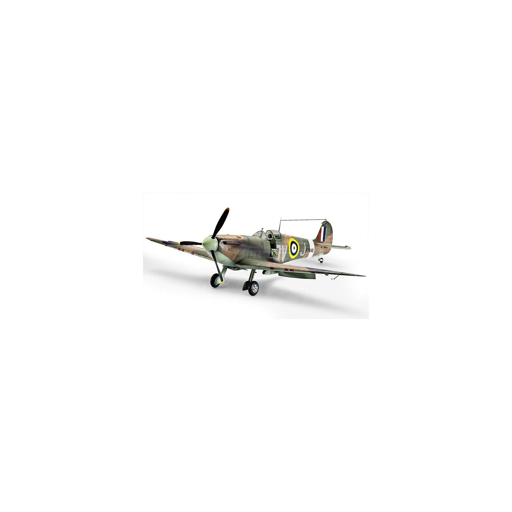 """Самолет Истребитель Спитфайэр Mk II, британский времен Второй Мировой ВойныМодели для склеивания<br>Сборная модель самолета Spitfire Mk. IXC. Английский истребитель времен Второй мировой был принят на вооружение в 1938 году. Всего было построено около 20 тысяч машин. Spitfire Mk применялись в основном на Западном фронте. В СССР по ленд-лизу было поставлено крайне мало подобных истребителей. Несколько """"спитфаеров"""" участвовали в боях над Украиной в 1943 году. <br>Масштаб: 1:32 <br>Количество деталей: 165 шт <br>Длина модели: 282 мм <br>Размах крыльев: 345 мм <br>Для детей старше 10-и лет <br>Клей, краски и кисточки продаются отдельно.<br><br>Ширина мм: 9999<br>Глубина мм: 9999<br>Высота мм: 9999<br>Вес г: 9999<br>Возраст от месяцев: 144<br>Возраст до месяцев: 2147483647<br>Пол: Мужской<br>Возраст: Детский<br>SKU: 7122322"""