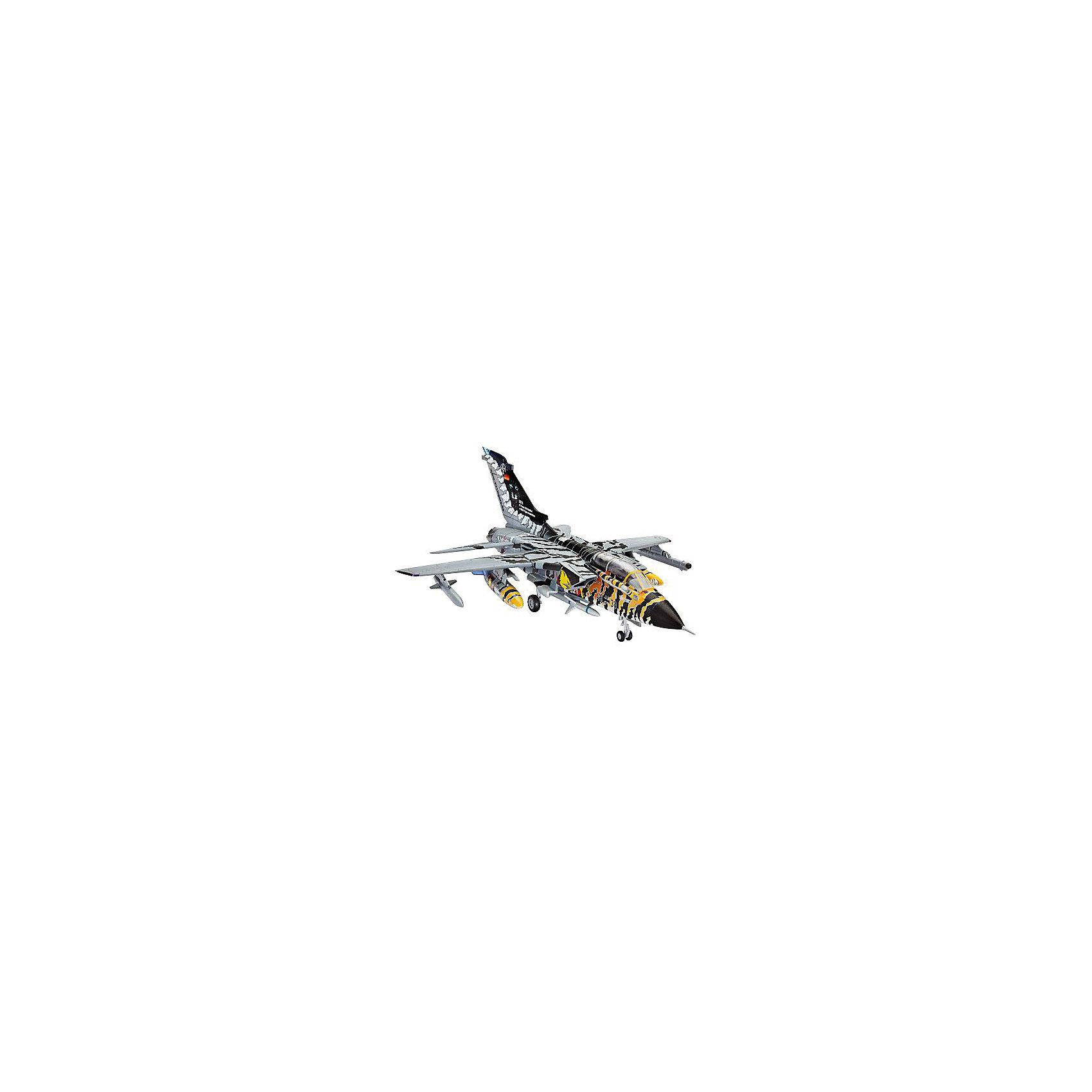 Самолет Разведчик-Бомбардировщик «Торнадо» ECR Tigermeet 2011Модели для склеивания<br>Сборная модель немецкого самолета Tornado ECR. Принятый на вооружение в 1980 году Tornado IDS до сих пор состоит на вооружении ВВС европейских стран. Является одним из основных самолетов НАТО. Активно применялся во время войн в Ираке и Югославии. За годы производства было построено 992 экземпляра.  <br>Масштаб: 1:144 <br>Количество деталей: 63 <br>Длина модели: 118 мм <br>Размах крыльев: 85 мм <br>Подойдет для детей старше 10-и лет <br>Клей и базовые краски в комплекте.<br><br>Ширина мм: 9999<br>Глубина мм: 9999<br>Высота мм: 9999<br>Вес г: 9999<br>Возраст от месяцев: 120<br>Возраст до месяцев: 2147483647<br>Пол: Мужской<br>Возраст: Детский<br>SKU: 7122325