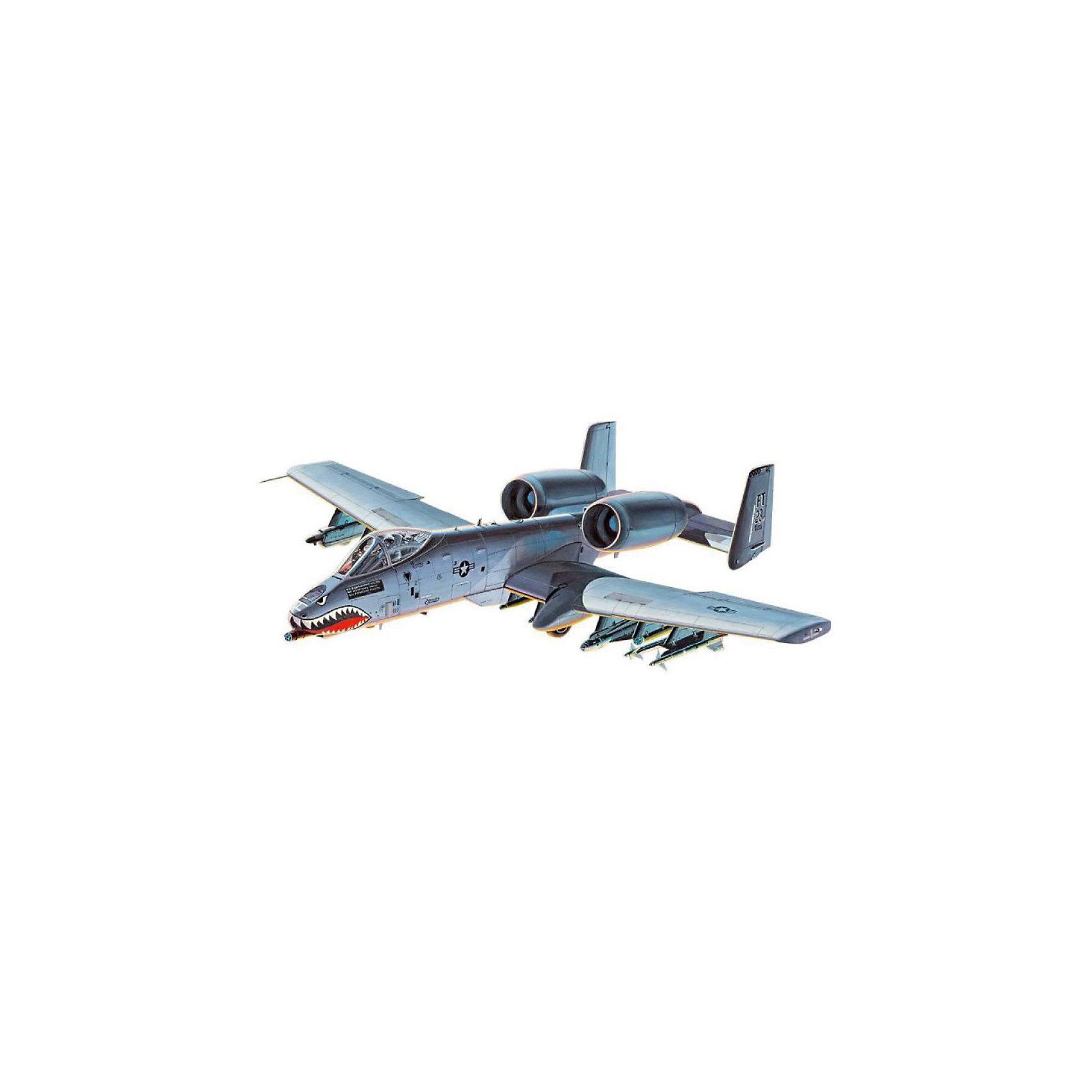 Сборка Самолет A-10 «Тандерболт» II, американскийМодели для склеивания<br>Сборная модель американского штурмовика A-10 Thunderbolt II. Самолет был разработан в 1975 году. Назван в честь другого американского истребителя-штурмовика P-47 – участника Второй мировой войны. Долгое время после передачи первых машин в армию США к A-10 относились с прохладой и даже собирались отозвать. Однако все изменилось после войны в Персидском заливе, где самолет хорошо себя зарекомендовал. <br>Вооружение самолета состоит из 30-мм авиационной пушки GAU-8/A. Кроме того штурмовик может нести бомбы и ракеты общим весом в 7257 кг. <br>Масштаб: 1:100 <br>Количество деталей: 33 шт <br>Длина модели: 163 мм <br>Размах крыльев: 175 мм <br>Рекомендуется для детей старше 10-и лет.<br><br>Ширина мм: 9999<br>Глубина мм: 9999<br>Высота мм: 9999<br>Вес г: 9999<br>Возраст от месяцев: 96<br>Возраст до месяцев: 2147483647<br>Пол: Мужской<br>Возраст: Детский<br>SKU: 7122330
