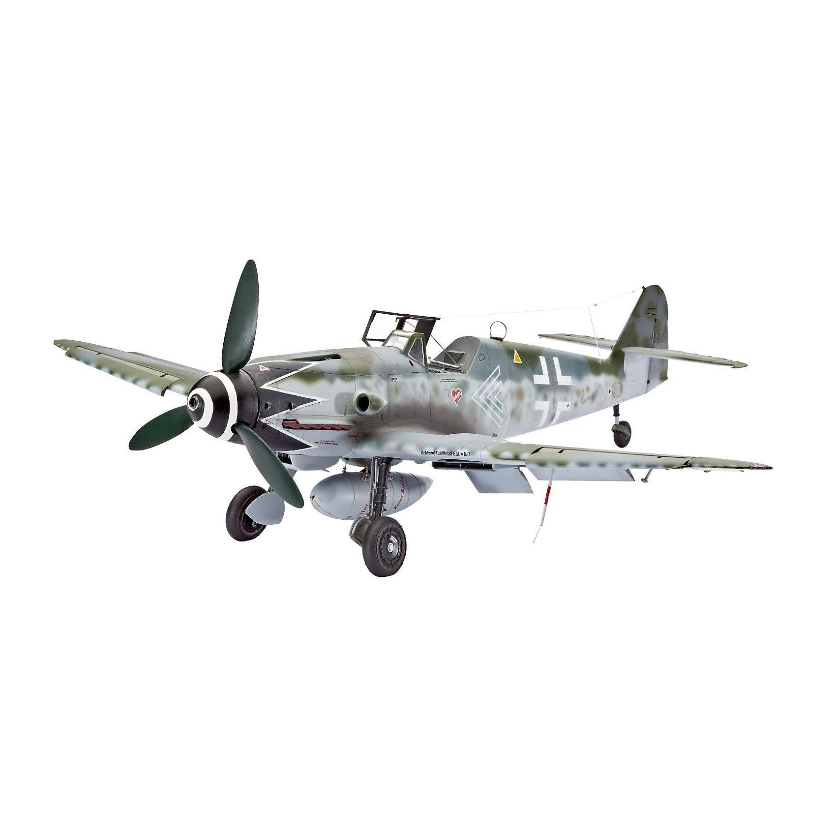 """Истребитель Messerschmitt Bf109 G-10 ErlaМодели для склеивания<br>Messerschmitt Bf.109 – самый известный и самый массовый немецкий истребитель Второй Мировой. За годы войны промышленность Германии произвела 33 984 самолетов данной модели. По показателю массовости """"Мессер"""" проигрывает только советскому штурмовику Ил-2. Впервые Bf.109 был использован пилотами легиона """"Кондор"""" во время гражданской войны в Испании <br><br>В ходе Второй мировой """"Мессер"""" широко применялся на всех театрах военных действий. В том числе и на Восточном фронте. Советские пилоты с уважением относились к этой машине и признавали в ней самого опасного воздушного противника. Стоит отметить, что самый результативный летчик Второй мировой немецкий ас Эрих Хартманн пилотировал именно Messerschmitt Bf.109. G-10 стала самой массовой модификацией """"Мессера"""". Изменения в модели коснулись двигателя и вооружения. Так пулеметы калибра 7,62 были заменены на 13-мм, а мощность двигателя увеличилась на 175 лошадиных сил <br><br>Масштаб: 1:32 <br>Количество деталей: 147 <br>Длина: 284 мм <br>Размах крыльев: 310 мм<br><br>Ширина мм: 9999<br>Глубина мм: 9999<br>Высота мм: 9999<br>Вес г: 9999<br>Возраст от месяцев: 156<br>Возраст до месяцев: 2147483647<br>Пол: Мужской<br>Возраст: Детский<br>SKU: 7122332"""