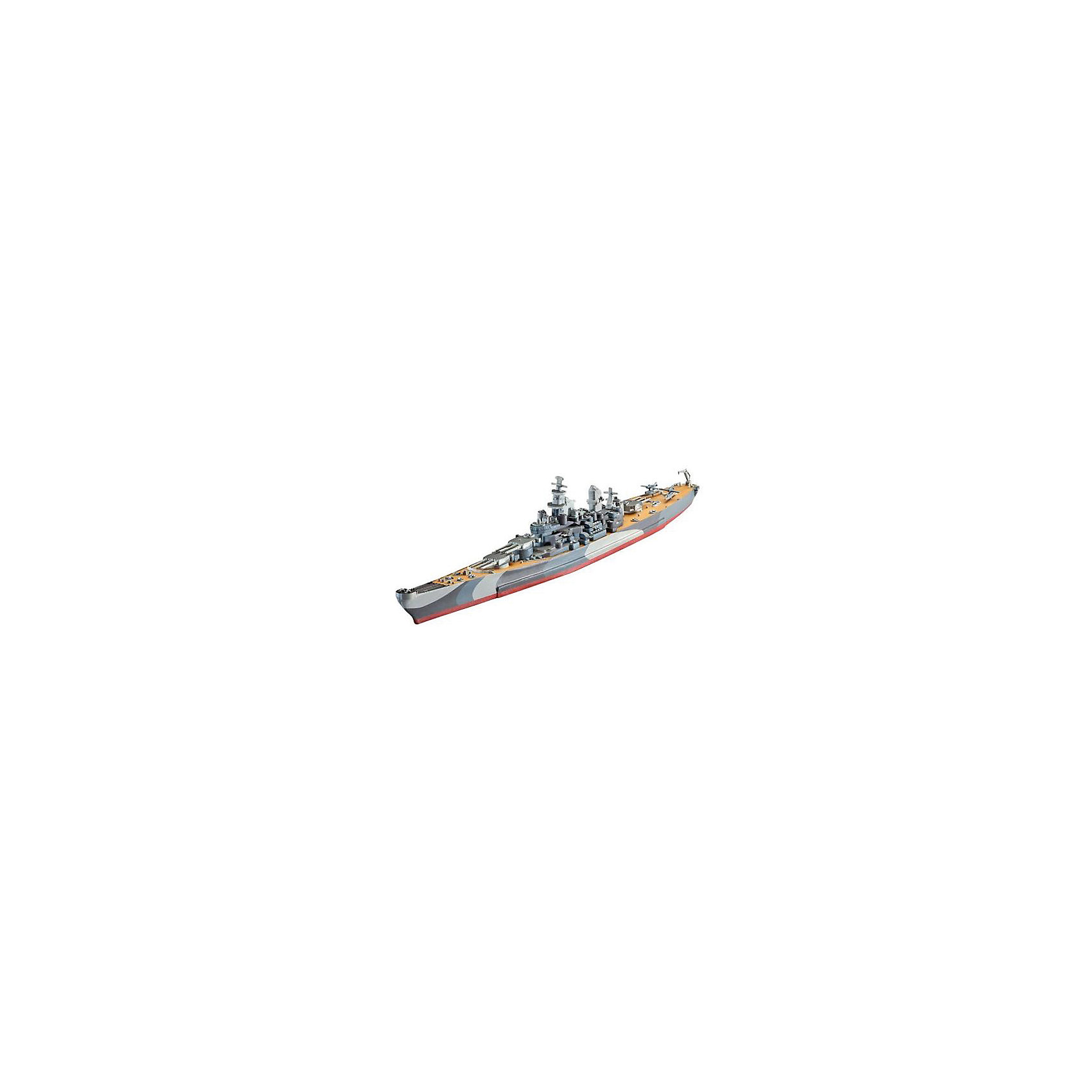 Корабль военный U.S.S. Missouri 2-я МВМодели для склеивания<br>Сборная модель американского линкора  U.S.S. Missouri  в масштабе 1:1200. Модель выполнена из пластика и для ее сборки вам понадобится клей.  <br>U.S.S. Missouri  - являлся крупнейшим и самым мощным кораблем ВМС США во время Второй мировой войны.  Корабль вошел в строй в июне 1944 и стал последним из кораблей класса Айова, принятым на вооружение.  Линкор принимал участие в боях за остров Иводзима. Также на нем была подписана капитуляция Японии 2 сентября в 1945 году. <br>Масштаб: 1:1200 <br>Длина модели: 225 мм <br>Количество деталей:  27 <br>Рекомендуется для детей от 10 лет. <br>Внимание! Клей и краски в комплект не входят. Они приобретаются отдельно.<br><br>Ширина мм: 9999<br>Глубина мм: 9999<br>Высота мм: 9999<br>Вес г: 9999<br>Возраст от месяцев: 120<br>Возраст до месяцев: 2147483647<br>Пол: Мужской<br>Возраст: Детский<br>SKU: 7122339