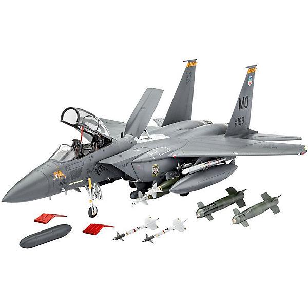 Истребитель F-15E Strike EagleСамолеты и вертолеты<br>Набор, позволяющий самостоятельно сконструировать истребитель F-15E Strike Eagle, американский двухместный бомбардировщик. Это уникальная модель самолета, который совершил свой первый полет в 1986 году и получил известность в качестве участника вооруженных конфликтов.  <br><br>Набор от Revell понравится любителям истории, коллекционерам, юным пилотам и любителям собирать фигурки, тренируя мелкую моторику, логические навыки, аккуратность и сообразительность. Вы можете поиграть с готовой моделью самолета и устроить воздушную баталию прямо в своем доме! Готовый разукрашенный самолет также займет достойное место в вашей коллекции и будет солидно и выгодно смотреться среди других моделей на полке.  <br><br>В подарочной упаковке вы найдете 224 детали, сделанные из материалов, прошедших строгий контроль качества. Клей и краски приобретаются отдельно.  <br><br>Размах крыльев: 26,7 см.  <br><br>Длина: 39,4 см.<br>Ширина мм: 340; Глубина мм: 45; Высота мм: 260; Вес г: 828; Возраст от месяцев: 144; Возраст до месяцев: 2147483647; Пол: Мужской; Возраст: Детский; SKU: 7122341;