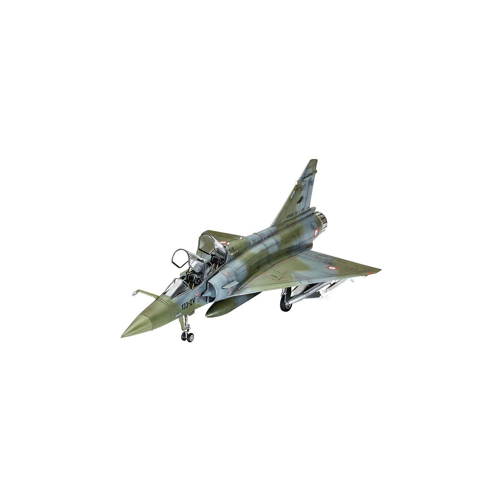 Штурмовик Mirage 2000DМодели для склеивания<br>Сборная модель французского самолета Dassault MIRAGE 2000D.  <br><br>Модель собирается из 74 пластиковых элементов. Они склеиваются между собой и затем окрашиваются. Мы рекомендуем использовать клей для пластика или акриловые или эмалевые краски от Ревелл. Они в набор не входят и покупаются отдельно. <br><br>Масштаб 1:72. <br>Длина модели 20,7 сантиметра. Размах крыльев 12,3 см. <br><br>В комплекте со сборной моделью идет декаль для окраски следующих самолетов: <br>- Dassault Mirage 2000D, 683, 133-IV, EC 01, 003 Navarre, 62nd Esc., French Air Force, Nancy AB, 2014 <br>- Dassault Mirage 2000D, 602, 3-XJ, EC 03, 003 Ardennes, 2nd Esc., French Air Force, Nancy AB, 2014<br><br>Ширина мм: 9999<br>Глубина мм: 9999<br>Высота мм: 9999<br>Вес г: 9999<br>Возраст от месяцев: 120<br>Возраст до месяцев: 2147483647<br>Пол: Мужской<br>Возраст: Детский<br>SKU: 7122342