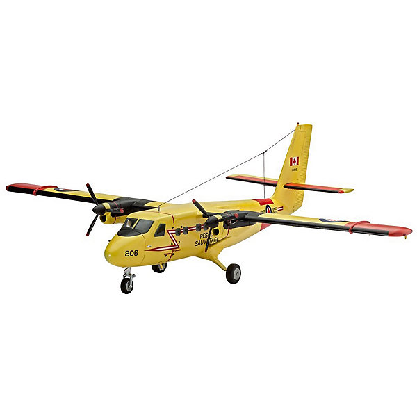 Самолет DH C-6 Твин ОттерМодели для склеивания<br>Моделирование – увлечение, которое со временем немного потеряло свою популярность. Современные дети имеют слабое представление об этом замечательном, увлекательном хобби. Вернуть традицию и развить у своего ребенка интерес к полезному занятию, отвлечь от онлайн-пространства помогут сборные модели от Revell. Для начала лучше выбрать модели попроще, например, Самолет DHC-6 Twin Otter. К счастью, интерес к технике у мальчишек не пропадает никогда. Поэтому собрать собственную точную копию небольшого пассажирского самолета в масштабе 1:72 ребенку наверняка захочется. <br>В комплект не входят клей и краски.<br><br>Ширина мм: 312<br>Глубина мм: 183<br>Высота мм: 46<br>Вес г: 238<br>Возраст от месяцев: 120<br>Возраст до месяцев: 2147483647<br>Пол: Мужской<br>Возраст: Детский<br>SKU: 7122343