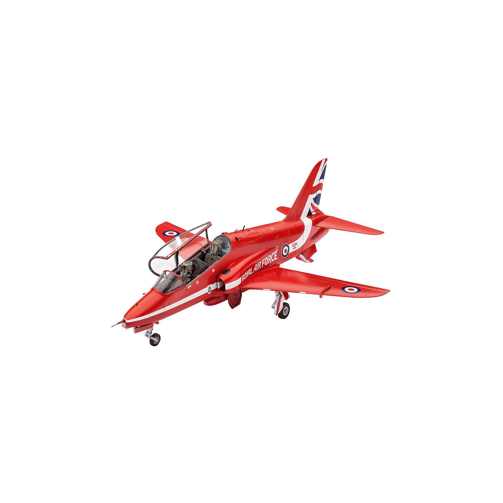 """Легкий штурмовик Hawk T1 Red ArrowsМодели для склеивания<br>Сборная модель  самолета Hawk T1 Red Arrows. Легкий штурмовик в цветах британской пилотажной группы """"Красные стрелы"""". Подразделение было образовано в 1965 году. А в конце 1979 пилотами """"Красных стрел"""" впервые были использованы самолеты Hawk T1. На этих машинах группа летает до сих пор. <br>Масштаб модели 1:72. В наборе 70 деталей для сборки самолета. В том числе элементы из прозрачного пластика. Длина модели 16,1 сантиметров. Размах крыльев 13 сантиметров. <br>Декаль для версии самолета: <br>BAe Systems Hawk T.1, Royal Air Force Aerobatic Team, The Red Arrows , RAF Scampton, England, март 2015 года. <br>Модель рекомендуется для взрослых и детей от 10 лет. <br>Внимание! Расходные материалы (клей и краска) приобретаются отдельно.<br><br>Ширина мм: 9999<br>Глубина мм: 9999<br>Высота мм: 9999<br>Вес г: 9999<br>Возраст от месяцев: 120<br>Возраст до месяцев: 2147483647<br>Пол: Мужской<br>Возраст: Детский<br>SKU: 7122354"""