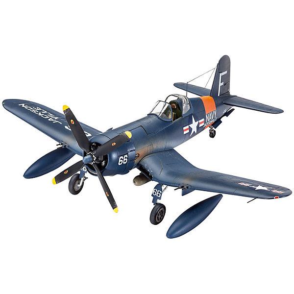 Сборная модель Истребитель F4U Corsair 1:72Самолеты и вертолеты<br>Сборная модель самолета F4U Corsair, 1:72. Прототип модели - палубный истребитель, принимавший участие во всех крупных операциях на Тихом океане во время Второй мировой войны. Масштаб 1:72.  <br>После и даже во время поклейки, модель можно раскрасить, чтобы она выглядела максимально реалистично.  Производитель предлагает окрасить модель в темно-синий цвет. Также в комплекте вы найдете различные наклейки для украшения.   <br>Длина модели 14,8 см. Размах крыльев 17,3 см. Количество деталей – 65. Модель выполнена из качественной пластмассы. Уровень сложности выполнения модели – 3. Краски и кисточка для раскрашивания модели, клей приобретаются отдельно.<br><br>Ширина мм: 157<br>Глубина мм: 31<br>Высота мм: 212<br>Вес г: 150<br>Возраст от месяцев: 120<br>Возраст до месяцев: 2147483647<br>Пол: Мужской<br>Возраст: Детский<br>SKU: 7122357