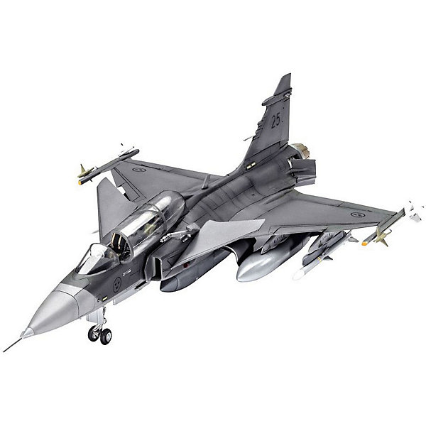 Истребитель-бомбардировщик Сааб JAS-39D Грипен  двухместныйМодели для склеивания<br>Сборная модель самолета Сааб JAS-39D Грипен в масштабе 1:72. Этот истребитель-бомбардировщик активно использовался на различных ролях в ВВС стран НАТО. <br>Длина модели после полной сборки составляет 21,5 сантиметров. Размах крыльев 12,7 сантиметров. Набор состоит из 115 деталей. <br>Декаль для самолета: <br> Saab JAS-39D Gripen, 39825 – ВВС Швеции, 2015 год  <br>Клей и краски приобретаются отдельно. <br>Сборная модель рекомендуется для детей от 10 лет.<br><br>Ширина мм: 351<br>Глубина мм: 44<br>Высота мм: 212<br>Вес г: 320<br>Возраст от месяцев: 120<br>Возраст до месяцев: 2147483647<br>Пол: Мужской<br>Возраст: Детский<br>SKU: 7122360