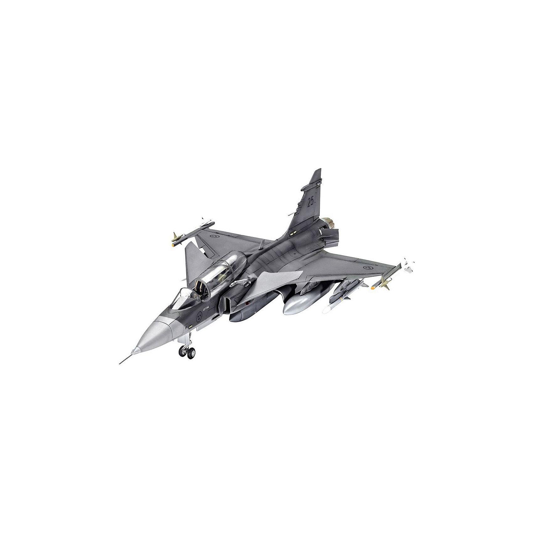 Истребитель-бомбардировщик Сааб JAS-39D Грипен  двухместныйМодели для склеивания<br>Сборная модель самолета Сааб JAS-39D Грипен в масштабе 1:72. Этот истребитель-бомбардировщик активно использовался на различных ролях в ВВС стран НАТО. <br>Длина модели после полной сборки составляет 21,5 сантиметров. Размах крыльев 12,7 сантиметров. Набор состоит из 115 деталей. <br>Декаль для самолета: <br> Saab JAS-39D Gripen, 39825 – ВВС Швеции, 2015 год  <br>Клей и краски приобретаются отдельно. <br>Сборная модель рекомендуется для детей от 10 лет.<br><br>Ширина мм: 9999<br>Глубина мм: 9999<br>Высота мм: 9999<br>Вес г: 9999<br>Возраст от месяцев: 120<br>Возраст до месяцев: 2147483647<br>Пол: Мужской<br>Возраст: Детский<br>SKU: 7122360
