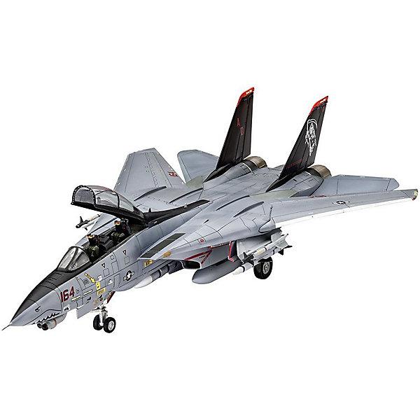 Палубный истребитель Грумман F-14D Super TomcatМодели для склеивания<br>Сборная модель американского самолета F-14D Super Tomcat. Истребитель в масштабе 1:72. <br>Набор состоит из 111 деталей. Крылья модели подвижны и могут изменять свою геометрию. Среди деталей присутствуют  дополнительные баки и навесное вооружение <br>В наборе декаль для постройки следующей версии самолета:  <br>-F-14D Super Tomcat -VF-101 Grim Reapers, NAS Oceana 2004 <br>Расходные материалы для склеивания и покраски в набор не входят. Они, как и инструменты, приобретаются отдельно. <br>Модель может быть рекомендована для детей от 10 лет.<br><br>Ширина мм: 368<br>Глубина мм: 59<br>Высота мм: 238<br>Вес г: 440<br>Возраст от месяцев: 120<br>Возраст до месяцев: 2147483647<br>Пол: Мужской<br>Возраст: Детский<br>SKU: 7122361