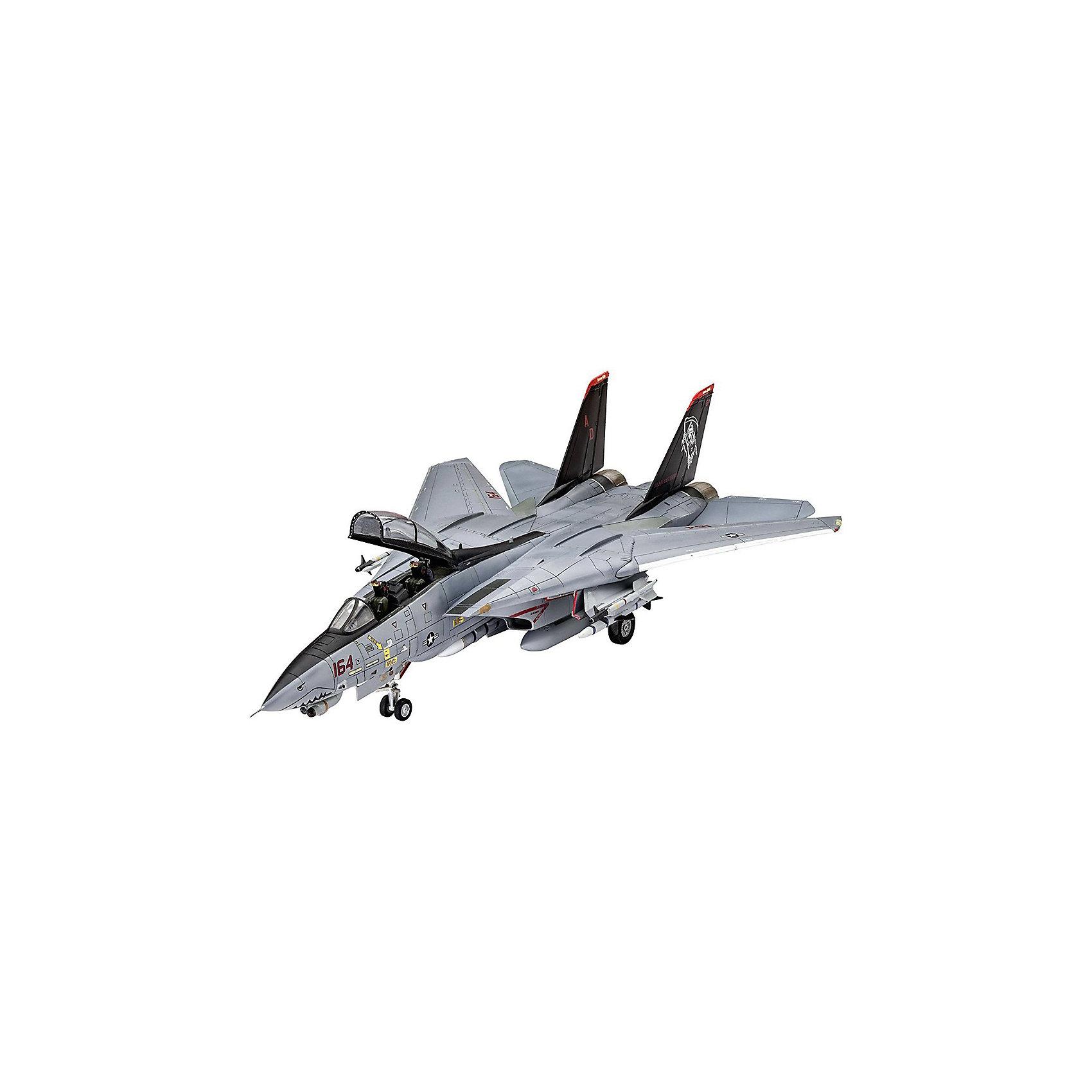Палубный истребитель Грумман F-14D Super TomcatМодели для склеивания<br>Сборная модель американского самолета F-14D Super Tomcat. Истребитель в масштабе 1:72. <br>Набор состоит из 111 деталей. Крылья модели подвижны и могут изменять свою геометрию. Среди деталей присутствуют  дополнительные баки и навесное вооружение <br>В наборе декаль для постройки следующей версии самолета:  <br>-F-14D Super Tomcat -VF-101 Grim Reapers, NAS Oceana 2004 <br>Расходные материалы для склеивания и покраски в набор не входят. Они, как и инструменты, приобретаются отдельно. <br>Модель может быть рекомендована для детей от 10 лет.<br><br>Ширина мм: 9999<br>Глубина мм: 9999<br>Высота мм: 9999<br>Вес г: 9999<br>Возраст от месяцев: 120<br>Возраст до месяцев: 2147483647<br>Пол: Мужской<br>Возраст: Детский<br>SKU: 7122361