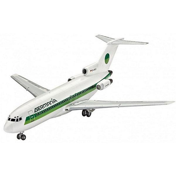 Пасскажирский самолет Boeing 727-100 авиакомпании GermaniaСамолеты и вертолеты<br>Сборная модель пассажирского лайнера Boeing 727-100 в масштабе 1 к 144. Детали модели изготовлены из пластика. Их необходимо склеить, а затем окрасить. Рекомендуем использовать акриловую или эмалевую краску.  <br>В набор входят декали для сборки самолета в ливрее авиакомпании Germania <br>Внимание! В комплект не включены расходные материалы и инструменты. Клей и краски необходимо приобретать отдельно. <br>Масштаб модели: 1/144  <br>Длина модели в собранном виде 27,1 сантиметра  <br>Размах крыльев  23 сантиметра  <br>В комплекте 51 деталь, декали и руководство по сборке <br>Рекомендуется для детей в возрасте от 10 лет.<br>Ширина мм: 311; Глубина мм: 46; Высота мм: 183; Вес г: 230; Возраст от месяцев: 120; Возраст до месяцев: 2147483647; Пол: Мужской; Возраст: Детский; SKU: 7122363;