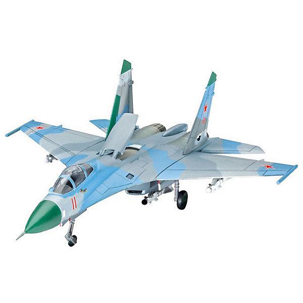 Многоцелевой истребитель СУ-27Самолеты и вертолеты<br>Сборная модель советского самолета Су-27 ( Flanker).  <br><br>Количество деталей 48. Подвесное вооружение в комплекте. <br><br>Масштаб модели 1:144 <br><br>Самолет можно собрать в двух вариантах на выбор - на земле (с выпущенным шасси) или в полете. Длина модели в собранном виде 14,1 сантиметров. Размах крыльев 10,3 сантиметров.  <br><br>Декаль для самолета Sukhoi Su-27 Flanker , 159. Fighter-Squadron, Stargard AB, GDR, 1992 <br><br>Клей, краска и инструменты в набор не входят. <br><br>Модель может быть рекомендована для взрослых и детей от 10 лет.<br>Ширина мм: 207; Глубина мм: 34; Высота мм: 132; Вес г: 110; Возраст от месяцев: 120; Возраст до месяцев: 2147483647; Пол: Мужской; Возраст: Детский; SKU: 7122365;