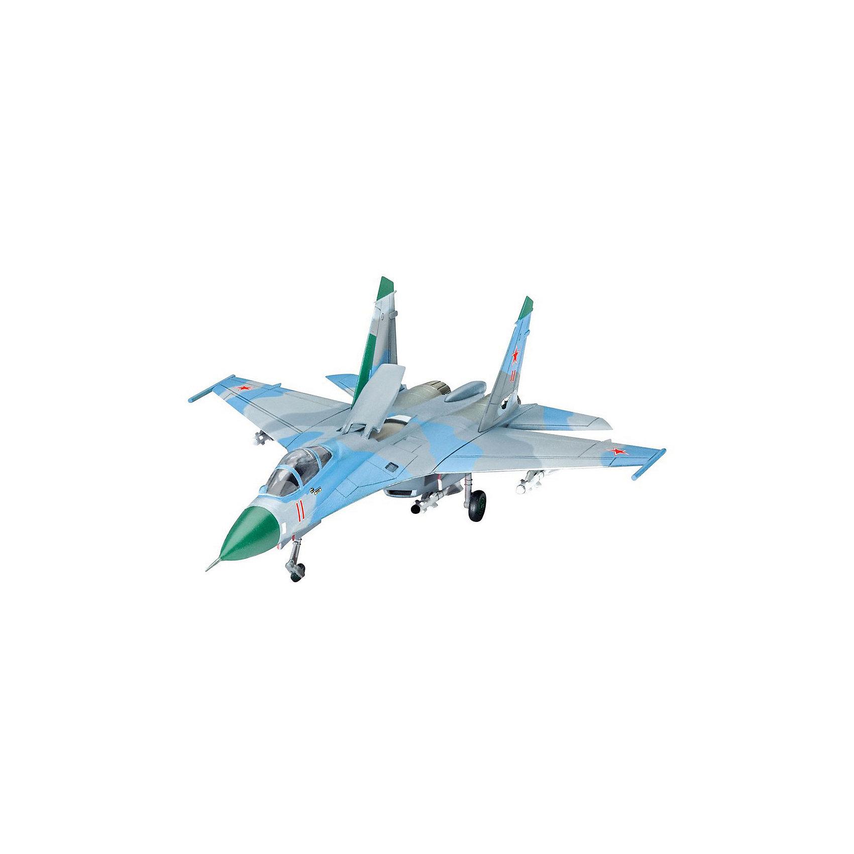 Многоцелевой истребитель СУ-27Модели для склеивания<br>Сборная модель советского самолета Су-27 ( Flanker).  <br><br>Количество деталей 48. Подвесное вооружение в комплекте. <br><br>Масштаб модели 1:144 <br><br>Самолет можно собрать в двух вариантах на выбор - на земле (с выпущенным шасси) или в полете. Длина модели в собранном виде 14,1 сантиметров. Размах крыльев 10,3 сантиметров.  <br><br>Декаль для самолета Sukhoi Su-27 Flanker , 159. Fighter-Squadron, Stargard AB, GDR, 1992 <br><br>Клей, краска и инструменты в набор не входят. <br><br>Модель может быть рекомендована для взрослых и детей от 10 лет.<br><br>Ширина мм: 9999<br>Глубина мм: 9999<br>Высота мм: 9999<br>Вес г: 9999<br>Возраст от месяцев: 120<br>Возраст до месяцев: 2147483647<br>Пол: Мужской<br>Возраст: Детский<br>SKU: 7122365