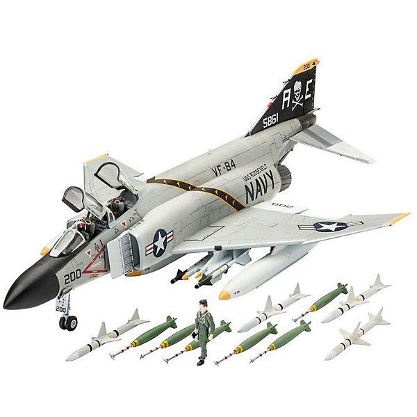 Многоцелевой истребитель F-4J Phantom US NavyМодели для склеивания<br>Сборная модель самолета F-4J Phantom US Navy 03941 в масштабе 1/72.  <br><br>В собранном виде длина модели составляет 24,5 см. Размах крыльев - 16,4 см. В комплекте 85 деталей.  <br><br>Также в набор включены декали для создания следующего борта - VF-84 Jolly Rogers , AE200/BuNo 155861 (на август 1970 года) <br><br>Модель истребителя продается в картонной коробке. Ее размер: 24,5х16,4 см. <br>Сборная модель выполнена из пластика. Ее необходимо склеить и затем окрасить. Клей и краски приобретаются отдельно <br>Рекомендуемый возраст: от 10 лет.<br><br>Ширина мм: 351<br>Глубина мм: 44<br>Высота мм: 212<br>Вес г: 250<br>Возраст от месяцев: 120<br>Возраст до месяцев: 2147483647<br>Пол: Мужской<br>Возраст: Детский<br>SKU: 7122366