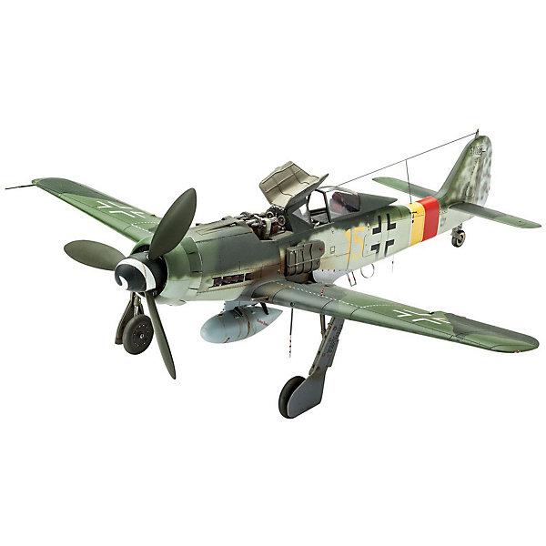 Немецкий истребитель Focke Wulf Fw 190 D-9Модели для склеивания<br>Сборная модель немецкого самолета Focke Wulf Fw 190 D-9 в масштабе 1:48. Этот истребитель использовался ВВС Германии на заключительных этапах Второй мировой войны. <br>Модель собирается из 144 деталей. Длина модели 21,5 см, размах крыльев 20 см. <br>В наборе вы найдете декаль для следующих вариантов самолета: <br>- Focke Wulf 190 D-9, Werknr. 500666, II./JG 301, Erfurt-Nord, Май 1945 <br>- Focke Wulf 190 D-9, Werknr. 210194, I./JG 2, Aachen, 1 января 1945 <br>Внимание! В комплект не входят инструменты и расходные материалы (краски и клей). Они приобретаются отдельно. <br>Для взрослых моделистов и детей от 14 лет.<br><br>Ширина мм: 368<br>Глубина мм: 59<br>Высота мм: 238<br>Вес г: 428<br>Возраст от месяцев: 168<br>Возраст до месяцев: 2147483647<br>Пол: Мужской<br>Возраст: Детский<br>SKU: 7122368