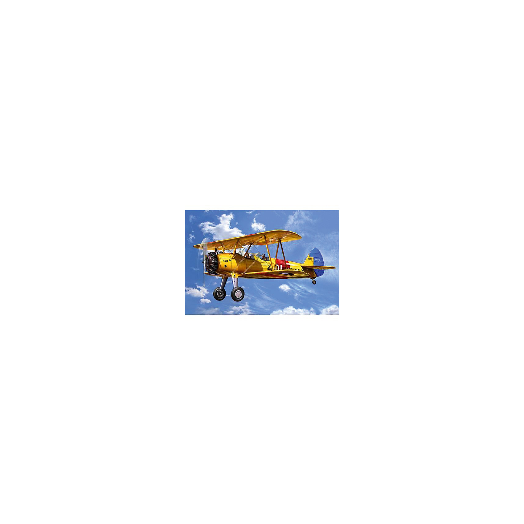 Самолет Биплан Стирмен PT-13D Kaydet, американскийМодели для склеивания<br>Самолет Биплан Стирмен PT-13D Kaydet был построен авиастоительная корпорация Стирман(после 1934 года - Боинг). Модель Стирмен PT-13D Kaydet была разработана специально для нужд ВВС США. Мощность двигателя равнялась 163 кВ и самолет мог развивать скорость до 200 км/ч. <br>Масштаб: 1:72 <br>Количество деталей: 29 <br>Длина: 105 мм <br>Размах крыльев: 132 мм <br>Клей и краски в комплект не входят<br><br>Ширина мм: 9999<br>Глубина мм: 9999<br>Высота мм: 9999<br>Вес г: 9999<br>Возраст от месяцев: 120<br>Возраст до месяцев: 2147483647<br>Пол: Мужской<br>Возраст: Детский<br>SKU: 7122373