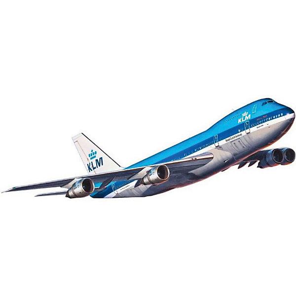 Самолет Пассажирский Boeing 747-100Самолеты и вертолеты<br>Первый Boeing 747 под официальным обозначением Boeing 747—100 был построен 2 сентября 1968 года. Первый полёт состоялся 9 февраля 1969 года. 1 января 1970 года принадлежавшим Pan American World Airways самолётом был выполнен первый коммерческий рейс. Первой европейской авиакомпанией, которая приобрела Boeing 747—100, была Lufthansa, которая получила в общей сложности три самолёта этой модели. Базовый вариант имел дальность полёта 7200 км. На самых первых самолётах на верхней палубе располагалось помещение для отдыха с тремя иллюминаторами. Несколько позже, когда авиакомпании стали использовать верхнюю палубу для пассажиров первого и бизнес-класса, палуба была окончательно переоборудована в пассажирский салон, рассчитанный на 60 пассажиров <br>Масштаб: 1:450 <br>Количество деталей: 42 <br>Длина: 157 мм <br>Размах крыльев: 132 мм <br>Клей и краски в комплект не входят<br>Ширина мм: 207; Глубина мм: 132; Высота мм: 34; Вес г: 80; Возраст от месяцев: 120; Возраст до месяцев: 2147483647; Пол: Мужской; Возраст: Детский; SKU: 7122374;