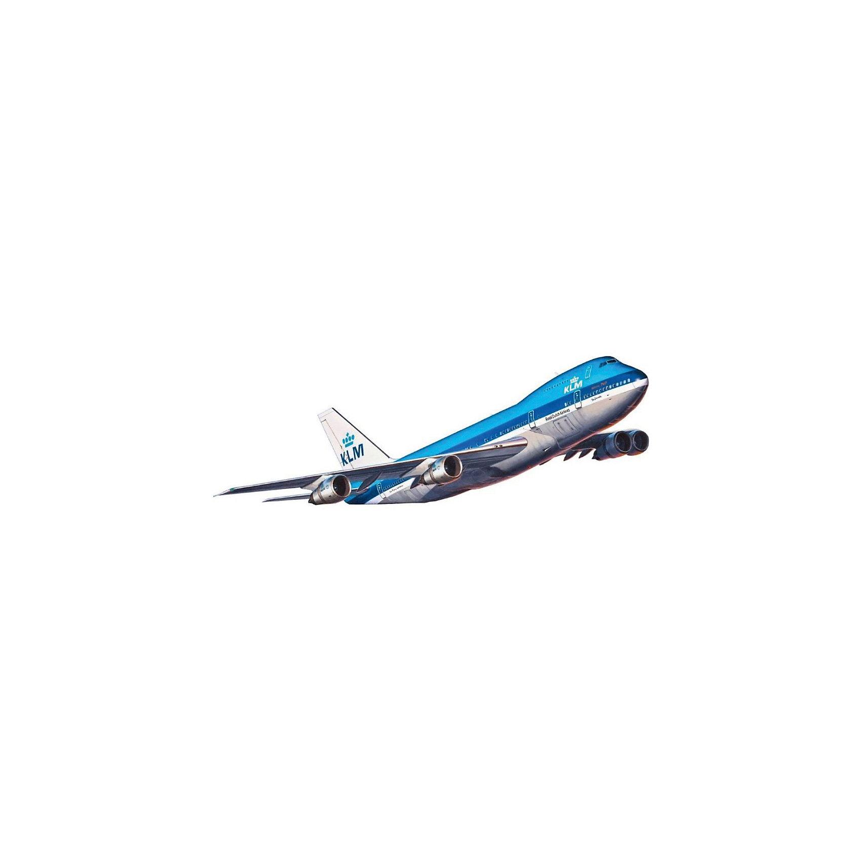 Самолет Пассажирский Boeing 747-100Модели для склеивания<br>Первый Boeing 747 под официальным обозначением Boeing 747—100 был построен 2 сентября 1968 года. Первый полёт состоялся 9 февраля 1969 года. 1 января 1970 года принадлежавшим Pan American World Airways самолётом был выполнен первый коммерческий рейс. Первой европейской авиакомпанией, которая приобрела Boeing 747—100, была Lufthansa, которая получила в общей сложности три самолёта этой модели. Базовый вариант имел дальность полёта 7200 км. На самых первых самолётах на верхней палубе располагалось помещение для отдыха с тремя иллюминаторами. Несколько позже, когда авиакомпании стали использовать верхнюю палубу для пассажиров первого и бизнес-класса, палуба была окончательно переоборудована в пассажирский салон, рассчитанный на 60 пассажиров <br>Масштаб: 1:450 <br>Количество деталей: 42 <br>Длина: 157 мм <br>Размах крыльев: 132 мм <br>Клей и краски в комплект не входят<br><br>Ширина мм: 9999<br>Глубина мм: 9999<br>Высота мм: 9999<br>Вес г: 9999<br>Возраст от месяцев: 120<br>Возраст до месяцев: 2147483647<br>Пол: Мужской<br>Возраст: Детский<br>SKU: 7122374