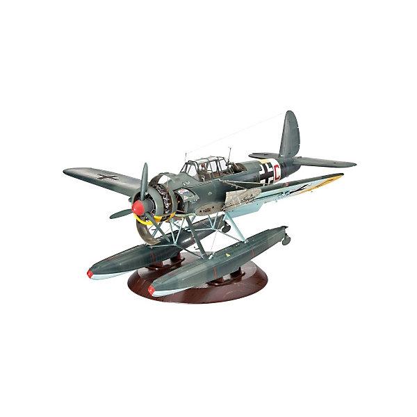 Купить Гидросамолет Arado 196 A-3, 2-ая МВ, немецкий, Revell, Польша, Мужской