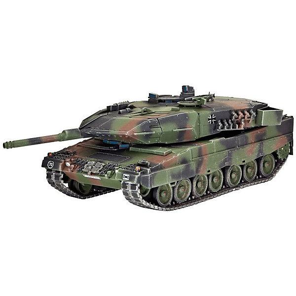 Танк Леопард 2A5 / A5NLВоенная техника и панорама<br>Сборная модель современного немецкого танка Леопард 2A5/A5NL. На данный момент Леопард 2 является основным боевым танком в армии Германии, а также в армиях ряда стран Европы. Танк создан по классической компоновке. Вооружение машины состоит из 120-мм гладкоствольной пушки  и двух пулеметов калибром 7,62.  Модификация 2A5/A5NL создана специально для армии Нидерландов. Эта модель получила новый люк для механика-водителя, существенно измененную башню и новую систему наведения орудия. Все эти изменения привели к увеличению массы танка до 62 тонн <br>Масштаб: 1:72 <br>Количество деталей: 180 <br>Длина модели: 134 мм <br>Уровень сложности: 4 <br>Все расходные материалы приобретаются отдельно<br>Ширина мм: 243; Глубина мм: 158; Высота мм: 36; Вес г: 200; Возраст от месяцев: 120; Возраст до месяцев: 2147483647; Пол: Мужской; Возраст: Детский; SKU: 7122379;