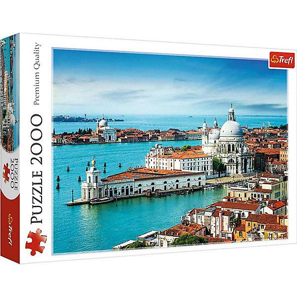 Пазлы «Венеция, Италия», 2000 деталейПазлы классические<br>Характеристики товара:<br><br>• количество деталей: 2000 шт.;<br>• размер картинки: 96х68 см;<br>• возраст: от 15 лет;<br>• материал: картон;<br>• размер упаковки: 40,1х27х6 см;<br>• страна бренда: Польша;<br>• страна производитель: Польша.<br><br>Пазлы «Венеция, Италия» станут прекрасным подарком для любителей старинной архитектуры Италии. Четкое изображение, выполненное в ярких цветах - отличное украшение любой комнаты в доме. Размер картинки - 96х68 сантиметров.<br><br>Пазл состоит из 2000 элементов, выполненных из плотного картона с антибликовым покрытием. Во время собрания пазлов развиваются мелкая моторика, логическое мышление, координация движений рук, внимательность.<br><br>Пазлы «Венеция, Италия», 2000 деталей, Trefl (Трефл) можно купить в нашем интернет-магазине.<br><br>Ширина мм: 410<br>Глубина мм: 378<br>Высота мм: 270<br>Вес г: 1210<br>Возраст от месяцев: 180<br>Возраст до месяцев: 2147483647<br>Пол: Унисекс<br>Возраст: Детский<br>SKU: 7126357