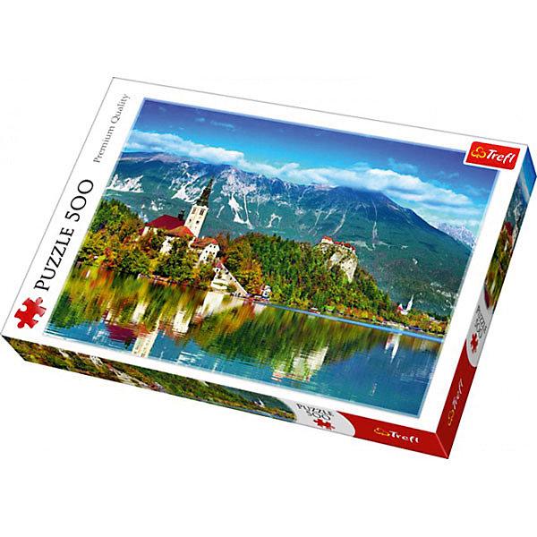 Пазлы «Блед, Словения», 500 деталейПазлы для детей постарше<br>Характеристики товара:<br><br>• количество деталей: 500 шт.;<br>• размер картинки: 48х34 см;<br>• возраст: от 10 лет;<br>• материал: картон;<br>• размер упаковки: 39,8х26,8х4,5 см;<br>• страна бренда: Польша;<br>• страна производитель: Польша.<br><br>Пазлы «Блед, Словения» помогут не только разнообразить досуг, но и провести время с пользой. Кроме того, готовая картинка с изображением Бледского замка и Церковью вознесения Девы Марии отлично подойдет для украшения комнаты.<br><br>Яркие краски изображения сохраняются в течение долгого времени. Пазл состоит из 500 деталей, изготовленных из плотного высококачественного картона со специальным антибликовым покрытием. Элементы легко соединяются и не деформируются в процессе использования. Сборка пазлов помогает развить концентрацию внимания, усидчивость, а также мелкую моторику рук.<br><br>Пазлы «Блед, Словения», 500 деталей, Trefl (Трефл) можно купить в нашем интернет-магазине.<br><br>Ширина мм: 410<br>Глубина мм: 378<br>Высота мм: 266<br>Вес г: 500<br>Возраст от месяцев: 120<br>Возраст до месяцев: 2147483647<br>Пол: Унисекс<br>Возраст: Детский<br>SKU: 7126362
