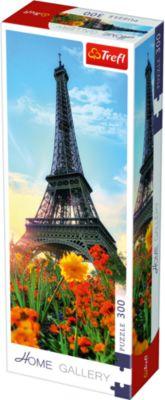 Trefl ѕазлы Ёйфелева башн¤ среди цветов, 300 элементов