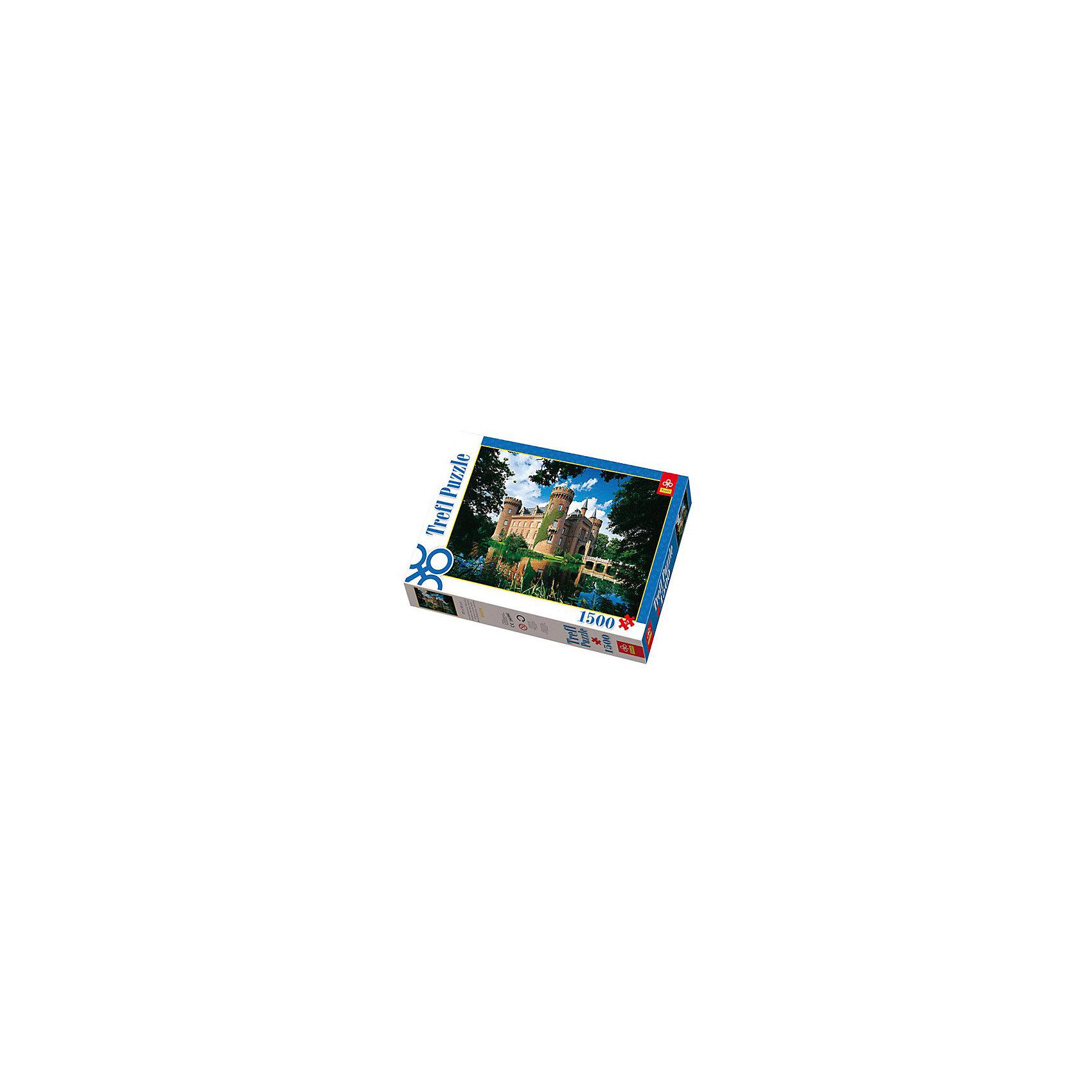 1500 дет. - Замок Мойланд, Северный Рейн-Вестфалия, ГерманияПазлы для детей постарше<br>Замок Мойланд в Вестфалии - памятник архитектуры 14-го века, построенный в нео-готическом стиле. Его название происходит от голландского выражения Красивая земля, которое передаёт впечатляющую живописность тамошних мест. Вы сможете сами оценить<br>красоту замка и окружающей природы, собрав этот огромный пазл-картину из 1500 деталей.<br><br>Не рекомендуется давать детям до 3 лет, которые могут поперхнуться мелкими деталями.<br><br>Ширина мм: 401<br>Глубина мм: 270<br>Высота мм: 60<br>Вес г: 980<br>Возраст от месяцев: 168<br>Возраст до месяцев: 2147483647<br>Пол: Унисекс<br>Возраст: Детский<br>SKU: 7126418
