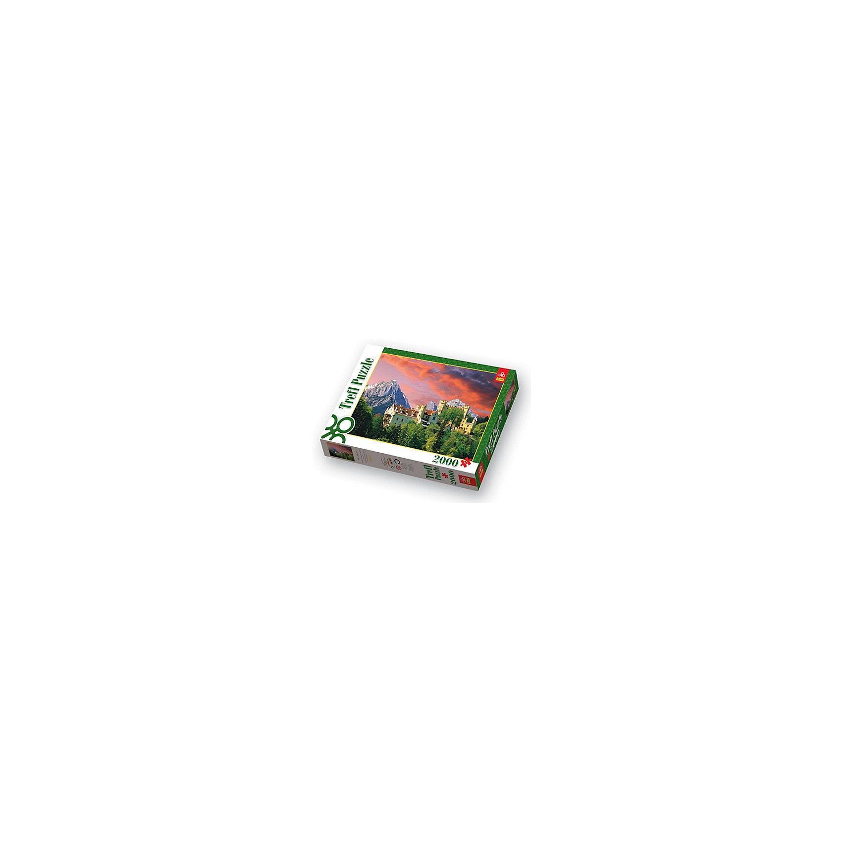 2000 дет. - Замок Гогеншвангау, БаварияПазлы для детей постарше<br>Пазл «Замок Гогеншвангау, Бавария» от Trefl станет отличным дополнением к вашему интерьеру. Удивительный пейзаж представлен в виде знаменитого замка Гоэншвангау, или, в переводе с немецкого, «Высокий лебединый край». Соберите собственными руками эту красоту, и необычная картина будет ежедневно радовать вас своим внешним видом. Набор состоит из 2 тысяч маленьких деталей. Вам предстоит сложная работа, ведь найти нужный элемент в данном случае, это как найти иголку в стоге сена. Отсюда и азарт, так как справиться с поставленной задачей сможет далеко не каждый. Запасайтесь терпением и спешите ломать голову над увлекательной игрой! Пазл поможет развить память, мелкую моторику и логику. Собирать его можно как в кругу семьи, так и среди просто хорошой компании. А если это произведение вы соберете самостоятельно, вы станете настоящим профессионалом!<br><br>Ширина мм: 401<br>Глубина мм: 270<br>Высота мм: 60<br>Вес г: 1210<br>Возраст от месяцев: 168<br>Возраст до месяцев: 2147483647<br>Пол: Унисекс<br>Возраст: Детский<br>SKU: 7126426
