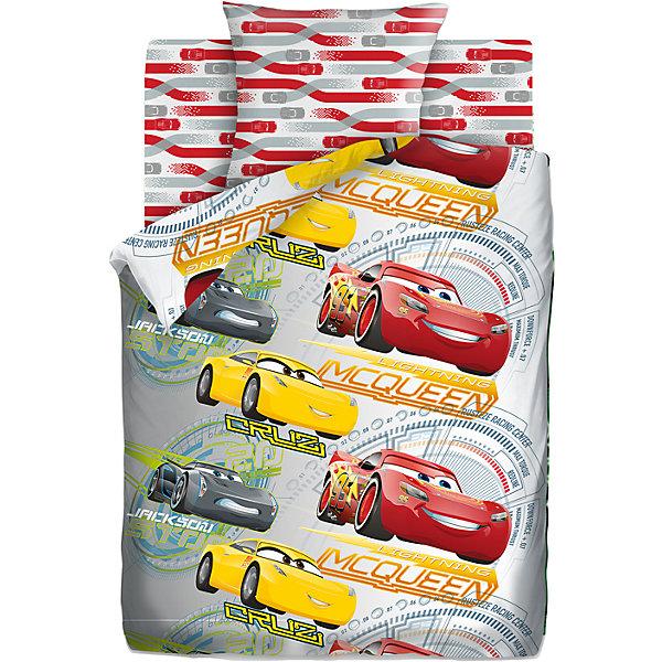 Комплект постельного белья 1,5 хлопок Тачки (70*70)  Соревнования + наклейкаДетское постельное бельё<br>Характеристики товара:<br><br>• размер:1,5-спальное<br>• в комплекте: пододеяльник 143х215 см; простынь 150х214 см; наволочка 70х70 см.<br>• материал: бязь (100% хлопок)<br>• тип застежки: прорезь<br>• наклейка в подарок<br>• размер упаковки: 29х5,5х37 см.<br>• вес: 1,2 кг.<br><br>Яркий комплект постельного белья «Тачки Соревнования» гармонично дополнит интерьер и подарит ребенку комфортный сон. Комплект состоит из наволочки, простыни и пододеяльника. Пододеяльник оформлен ярким рисунком с изображением героев мультсериала Тачки. Рисунок на пододеяльнике с двух сторон. Дизайн наволочки и простыни гармонично дополняет основной рисунок пододеяльника.<br><br>Белье изготовлено из бязи (100 % хлопок) с применением устойчивых гипоаллергенных красителей, безопасных для кожи ребенка. Ткань приятна на ощупь, отлично впитывает влагу и хорошо пропускает воздух, позволяя коже дышать Белье, легко стирается, гладится, сохраняет яркость цвета и прочность даже после многочисленных стирок.<br><br>Комплект постельного белья 1,5 хлопок Тачки (70*70) Соревнования + наклейка можно купить в нашем интернет-магазине.<br><br>Ширина мм: 290<br>Глубина мм: 55<br>Высота мм: 370<br>Вес г: 1200<br>Возраст от месяцев: 48<br>Возраст до месяцев: 144<br>Пол: Унисекс<br>Возраст: Детский<br>SKU: 7126590