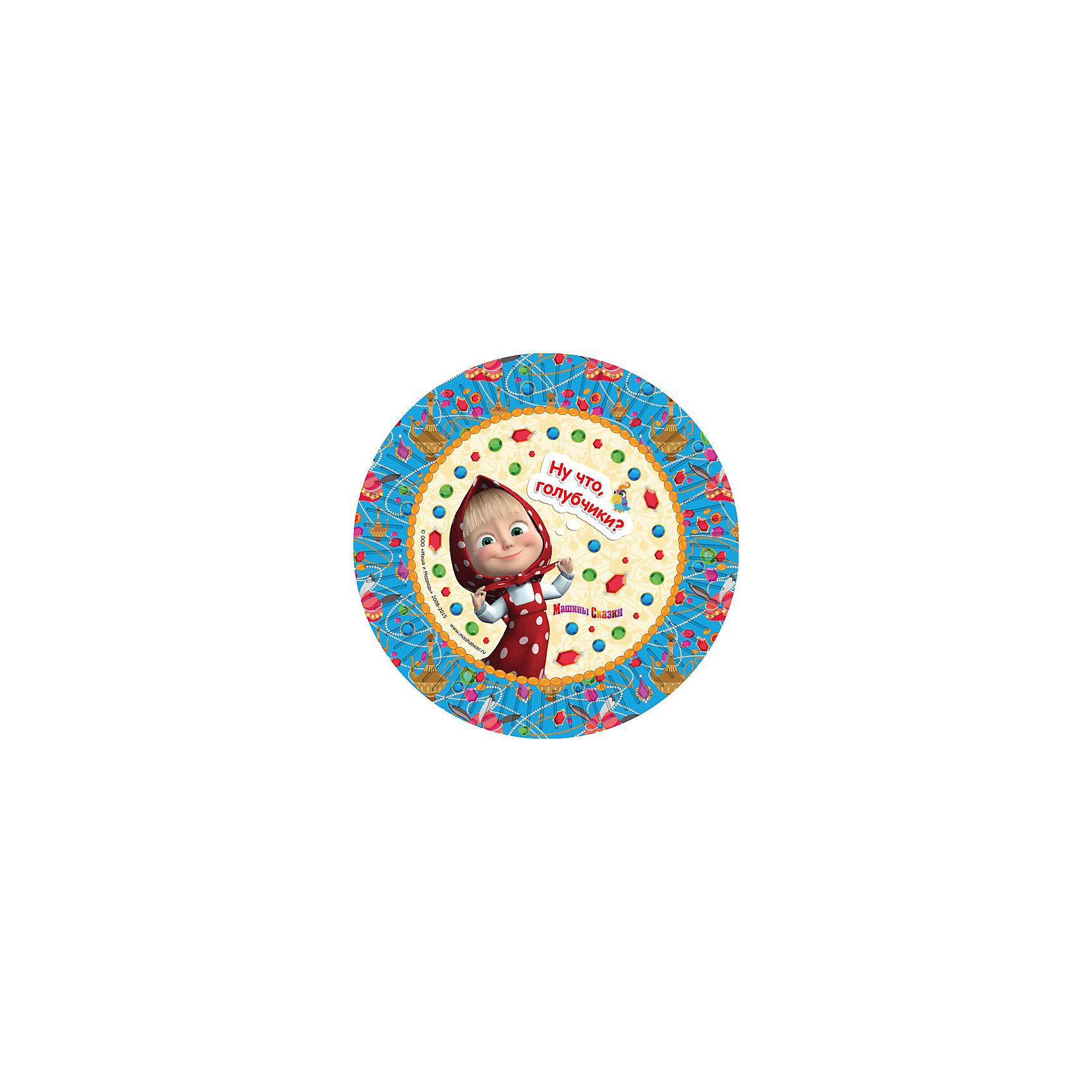 Тарелки Росмэн Машины сказки 6 шт, 18 смТарелки<br>Одноразовые тарелки «Машины сказки» ТМ «Маша и Медведь» с ярким, жизнерадостным дизайном стильно украсят праздничный стол и поднимут всем настроение. А на пикнике они просто необходимы! Их практическую пользу невозможно переоценить: они почти невесомы, не могут разбиться, их не надо мыть. Сделанные из плотной бумаги, они абсолютно безопасны и, благодаря глянцевому ламинированию, прекрасно удерживают еду. В наборе 6 бумажных тарелок диаметром 18 см. Упаковка – термоусадочная плёнка.<br><br>Ширина мм: 600<br>Глубина мм: 400<br>Высота мм: 350<br>Вес г: 50<br>Возраст от месяцев: 36<br>Возраст до месяцев: 2147483647<br>Пол: Унисекс<br>Возраст: Детский<br>SKU: 7127422