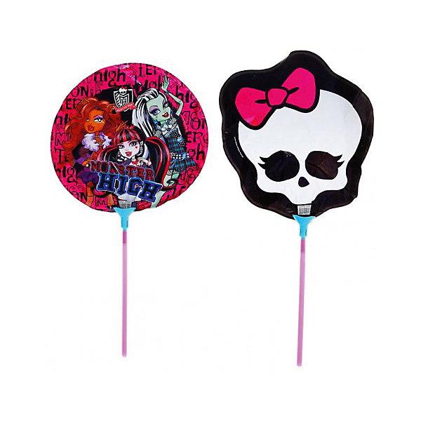 Набор фольгированных мини-шаров Росмэн Monster High, 2 шт.Monster High<br>Характеристики:<br><br>• в комплекте: 2 шарика, 2 палочки, 2 держателя;<br>• размер шара: 23 см.;<br>• герой: Monster High;<br>• упаковка: фольгированный пакетик;<br>• материал: фольга;<br>• размер упаковки: 20х0,1х27см.;<br>• для детей в возрасте: от 3 лет;<br>• страна производитель: Россия.<br><br>Набор аксессуаров для праздника «Школа монстров» бренда «Росмэн» содержит: два шара, два держателя и две палочки. Шарики можно надуть как воздухом, так и гелем. Забавные персонажи изображенные на них отлично подойдут для поздравления девочек.<br><br>На празднике надувание шариков превратится в забавную игру. Такие упражнения принесут и практическую пользу, помогут детям осваивать дыхательную гимнастику, что способствует гармоничному физическому и умственному развитию. Эти упражнения полезно проводить и в простые дни.<br><br>Набор фольгированных мини-шаров «Школа монстров» можно купить в нашем интернет-магазине.<br>Ширина мм: 200; Глубина мм: 270; Высота мм: 10; Вес г: 20; Возраст от месяцев: 36; Возраст до месяцев: 2147483647; Пол: Женский; Возраст: Детский; SKU: 7127434;