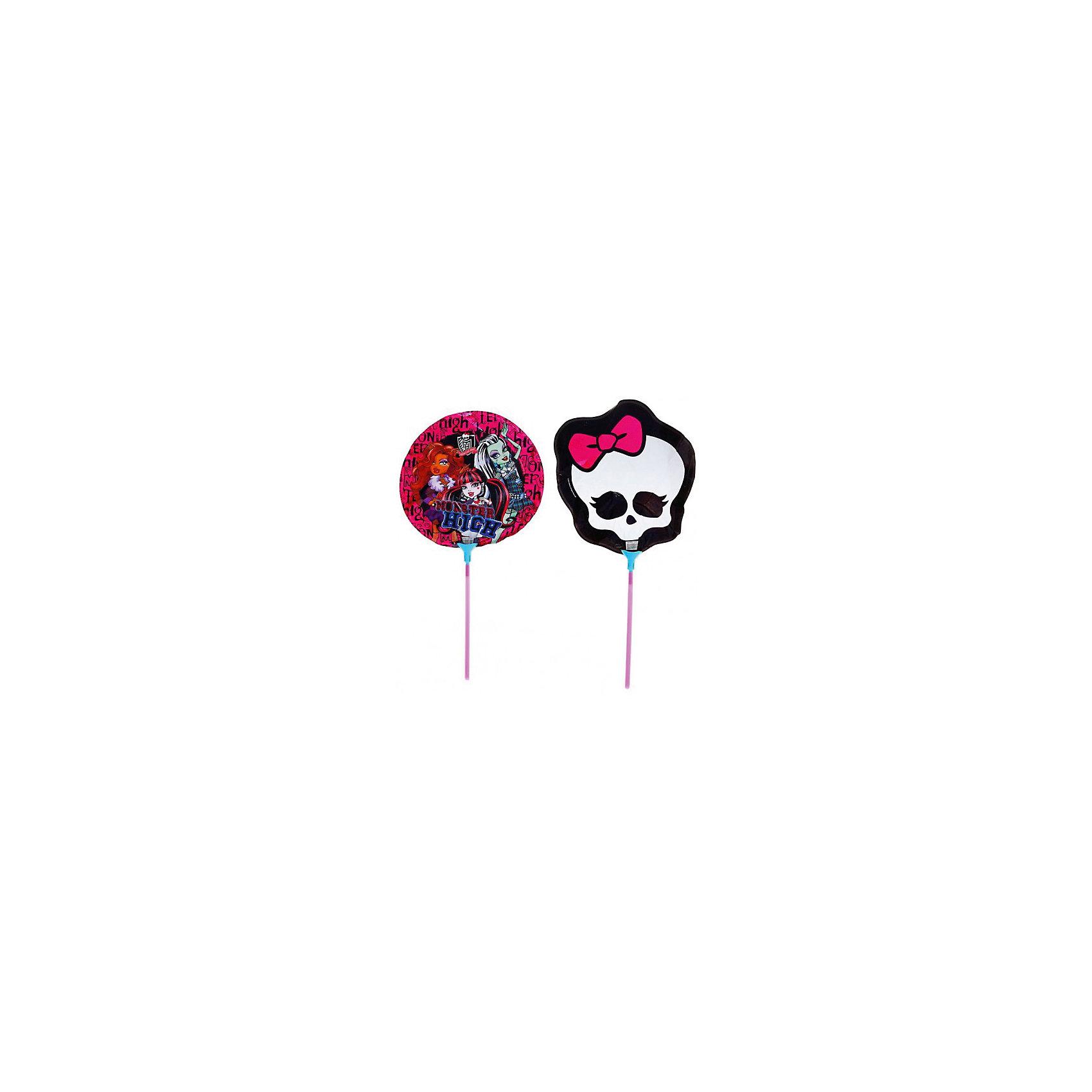 Набор фольгированных мини-шаров Росмэн Monster High, 2 шт.Monster High<br>Шарики с героями «Школы монстров» стильно и модно украсят любую вечеринку.&#13;<br>В комплекте «Монстр Хай» 2 мини-фигуры, изготовленные из миларовой пленки: одна – круглая с изображением героинь мультфильма, вторая – в виде черепа; 2 палочки, 2 держателя. Упаковка – пакет с карточкой.<br><br>Ширина мм: 580<br>Глубина мм: 410<br>Высота мм: 360<br>Вес г: 20<br>Возраст от месяцев: 36<br>Возраст до месяцев: 2147483647<br>Пол: Женский<br>Возраст: Детский<br>SKU: 7127434