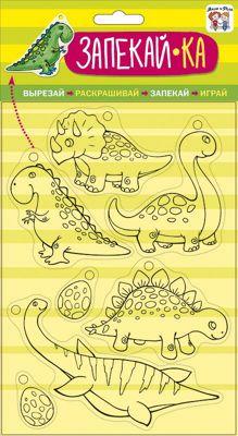 Набор игровой для творчества Мила и Феля - Запекай-Ка_Динозавры