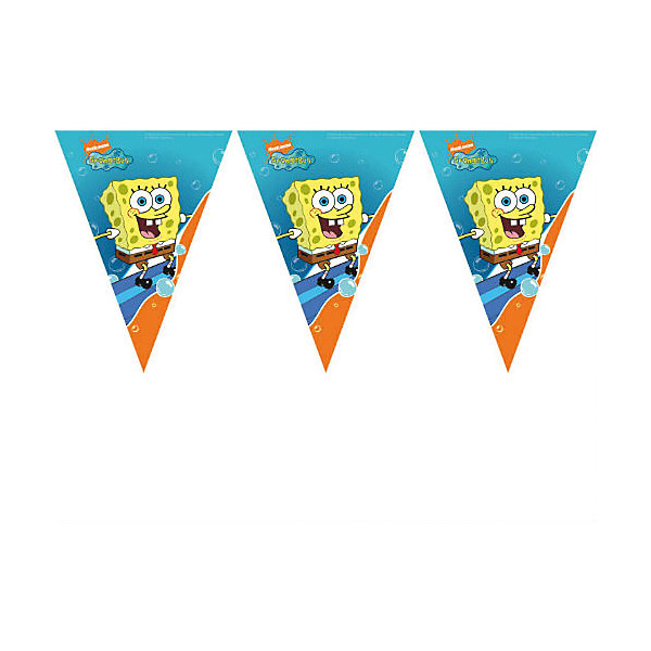 Гирлянда Губка БобБаннеры и гирлянды для детской вечеринки<br>Губка Боб – один из самых популярных современных героев у всех мальчишек. <br>Гирлянда с Губкой Бобом украсит комнату к празднику, создаст атмосферу торжества и подарит хорошее настроение детям! <br>В набор входит 1 гирлянда.<br>Ширина мм: 500; Глубина мм: 200; Высота мм: 270; Вес г: 20; Возраст от месяцев: -2147483648; Возраст до месяцев: 2147483647; Пол: Унисекс; Возраст: Детский; SKU: 7128891;