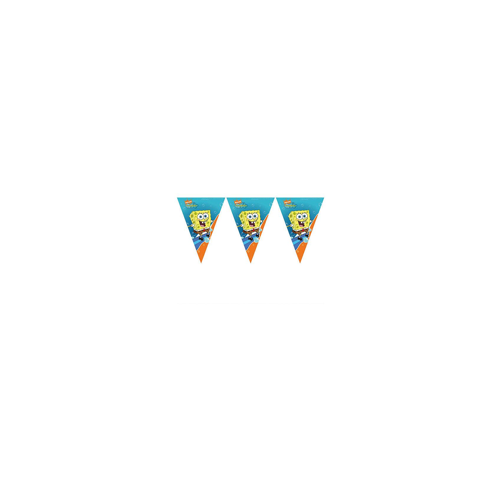 Гирлянда Губка БобБаннеры и гирлянды для детской вечеринки<br>Губка Боб – один из самых популярных современных героев у всех мальчишек. <br>Гирлянда с Губкой Бобом украсит комнату к празднику, создаст атмосферу торжества и подарит хорошее настроение детям! <br>В набор входит 1 гирлянда.<br><br>Ширина мм: 500<br>Глубина мм: 200<br>Высота мм: 270<br>Вес г: 20<br>Возраст от месяцев: -2147483648<br>Возраст до месяцев: 2147483647<br>Пол: Унисекс<br>Возраст: Детский<br>SKU: 7128891