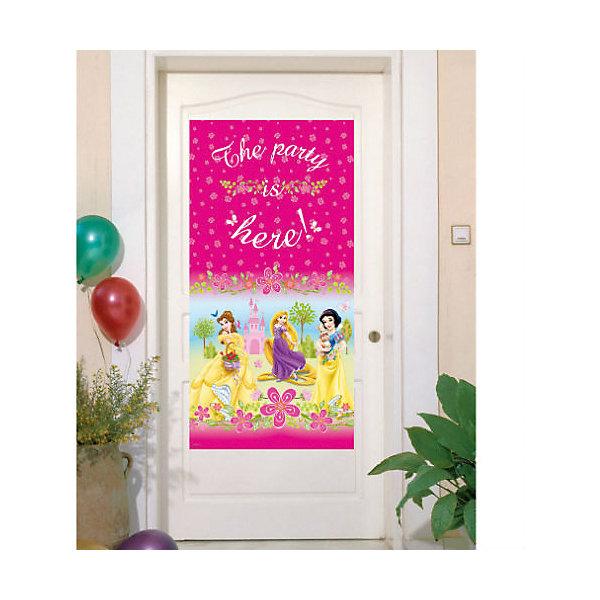 Баннер на дверь Принцессы Disney - Летний замокНовинки для праздника<br>Принцессы Дисней – любимые героини мультфильмов: Аврора, Белль. Рапунцель и Белоснежка будут встречать Ваших гостей.  <br>Баннер с принцессами украсит дверь в комнату именинницы и создаст праздничное настроение гостям.  <br><br>В набор входит 1 баннер.<br><br>Ширина мм: 4<br>Глубина мм: 175<br>Высота мм: 287<br>Вес г: 10<br>Возраст от месяцев: -2147483648<br>Возраст до месяцев: 2147483647<br>Пол: Женский<br>Возраст: Детский<br>SKU: 7128892