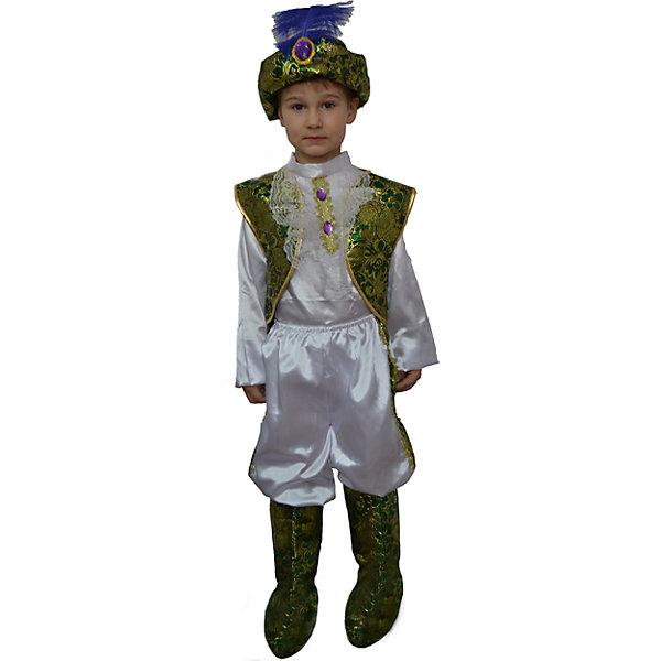 Карнавальный костюм для детей Арабский принцКарнавальные костюмы для мальчиков<br><br><br>Ширина мм: 400<br>Глубина мм: 290<br>Высота мм: 100<br>Вес г: 437<br>Возраст от месяцев: 24<br>Возраст до месяцев: 2147483647<br>Пол: Унисекс<br>Возраст: Детский<br>SKU: 7128972