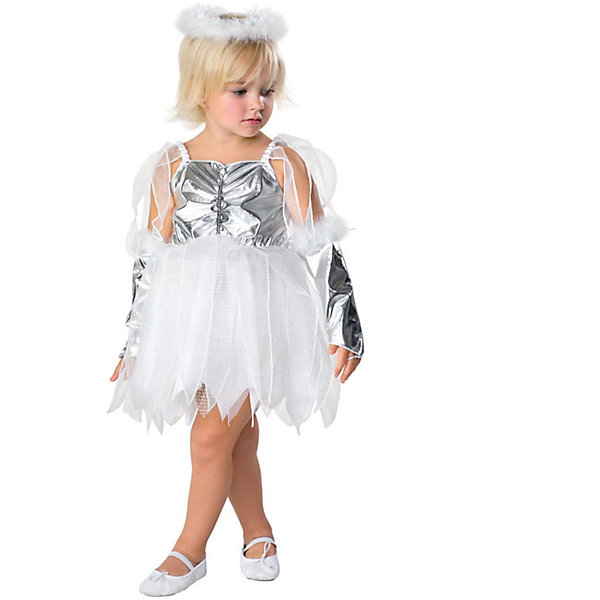 Детский маскарадный костюм Маленький ангелНовинки Новый Год<br><br>Ширина мм: 260; Глубина мм: 400; Высота мм: 20; Вес г: 180; Возраст от месяцев: 48; Возраст до месяцев: 72; Пол: Унисекс; Возраст: Детский; SKU: 7128974;