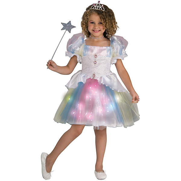 Детский маскарадный костюм для девочек из полиэстра, трикотажКарнавальные костюмы для девочек<br>Параметры изделия:<br><br>&amp;nbsp;<br><br>- Объём груди &amp;nbsp;-62 см<br><br>- Длина платья - 61 см<br><br>- Боковой шов - 16 см<br>Ширина мм: 300; Глубина мм: 220; Высота мм: 100; Вес г: 320; Возраст от месяцев: 72; Возраст до месяцев: 96; Пол: Унисекс; Возраст: Детский; SKU: 7128980;