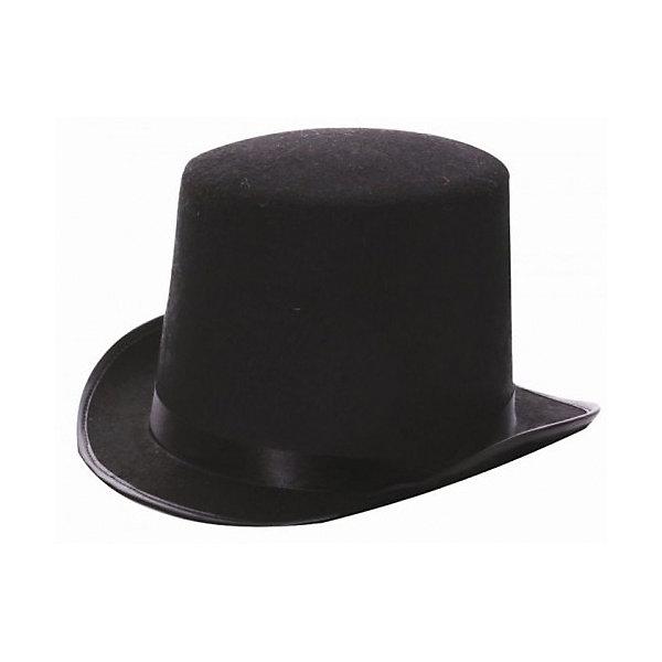 Маскарадная шляпа ЦИЛИНДРДетские шляпы и колпаки<br>На обхват головы (своей или в карнавальном парике) 59 см.<br><br>Ширина мм: 300<br>Глубина мм: 250<br>Высота мм: 140<br>Вес г: 104<br>Возраст от месяцев: 24<br>Возраст до месяцев: 2147483647<br>Пол: Унисекс<br>Возраст: Детский<br>SKU: 7128984